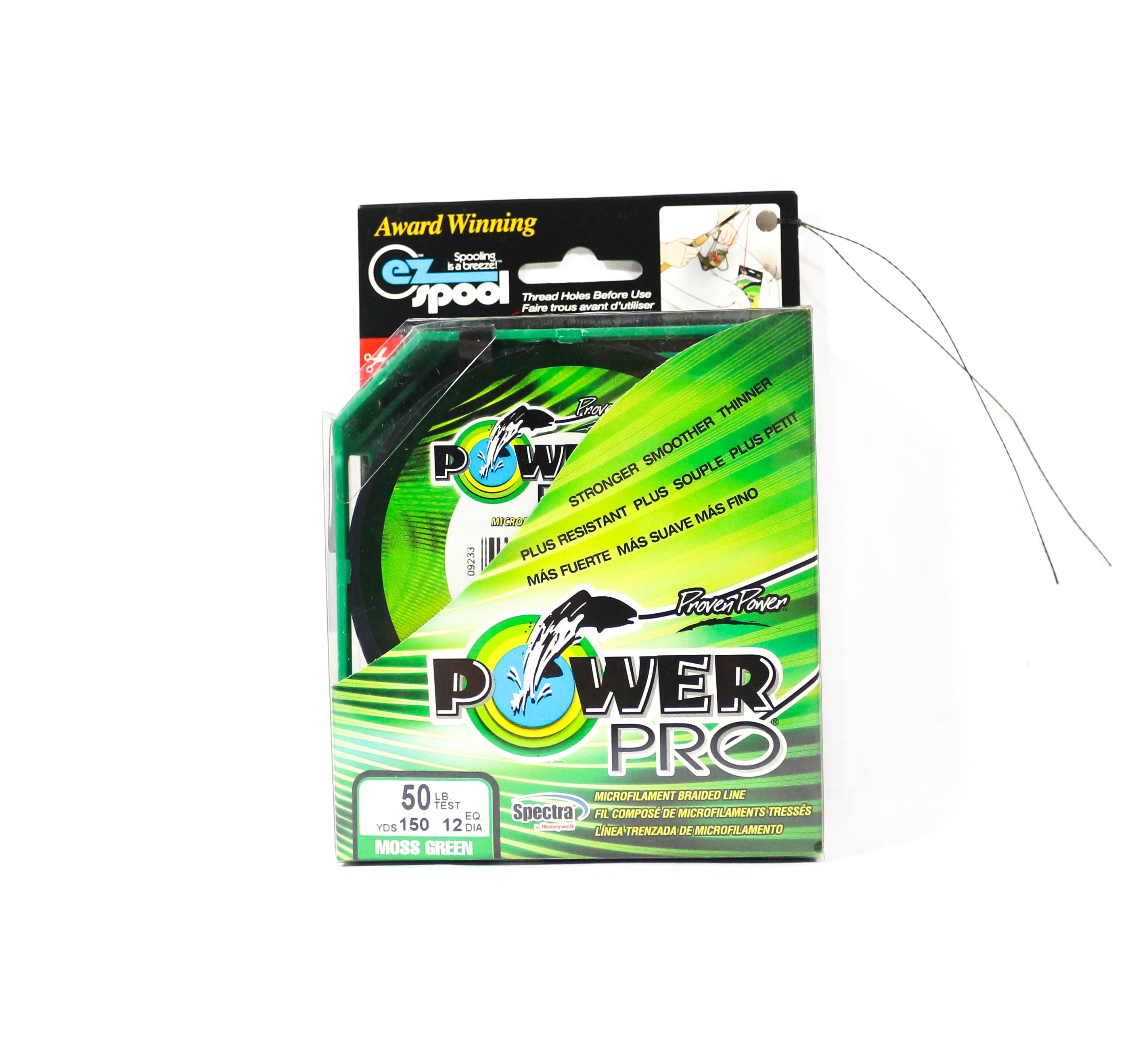Power Pro Braided Spectra Line 50lb by 150yds Green (1184)