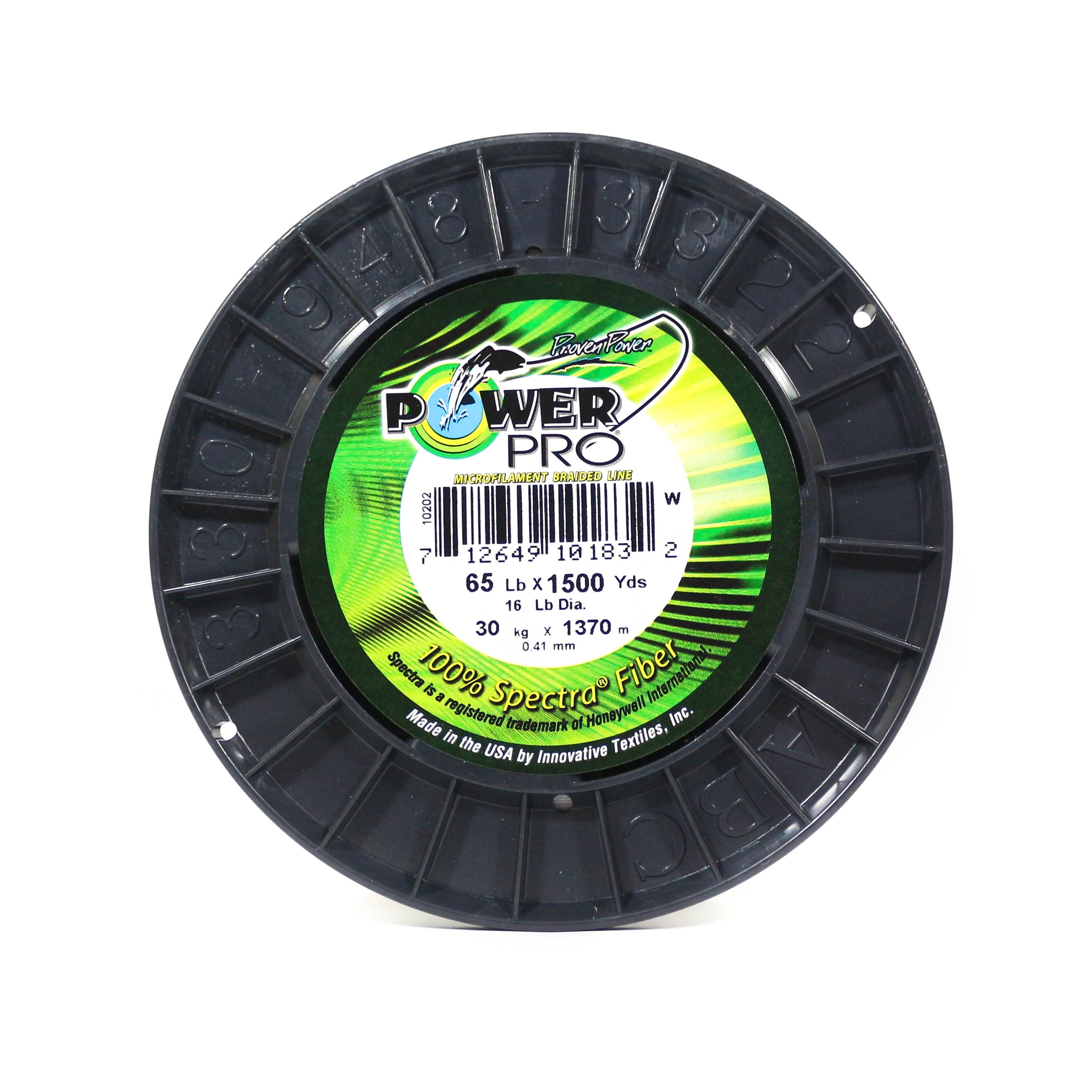 Power Pro Braided Spectra Line 65lb by 1500yds White (1832)