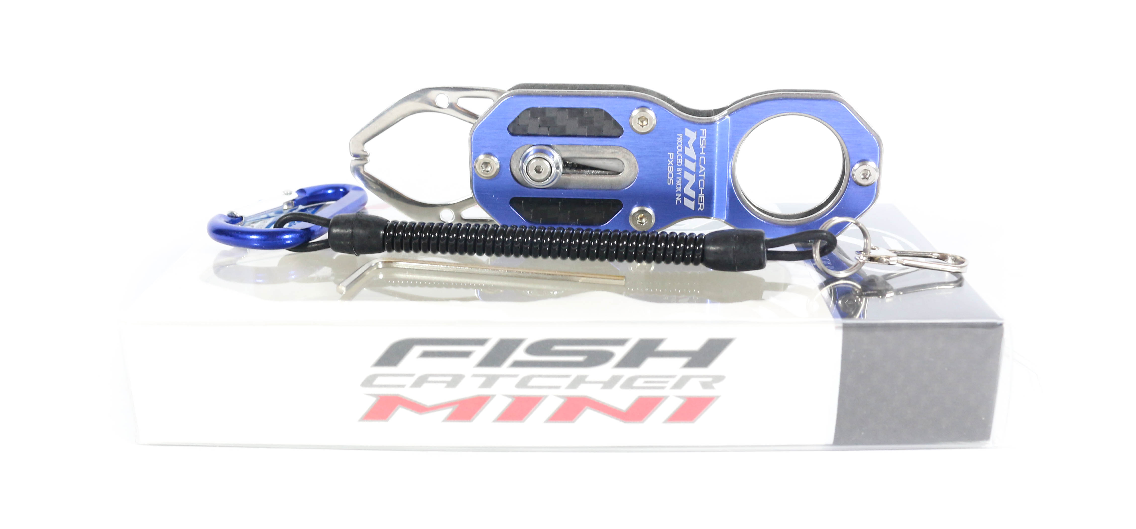 Prox PX805B Fish Catcher Mini Fish Grip Handling Tool Blue (4281)