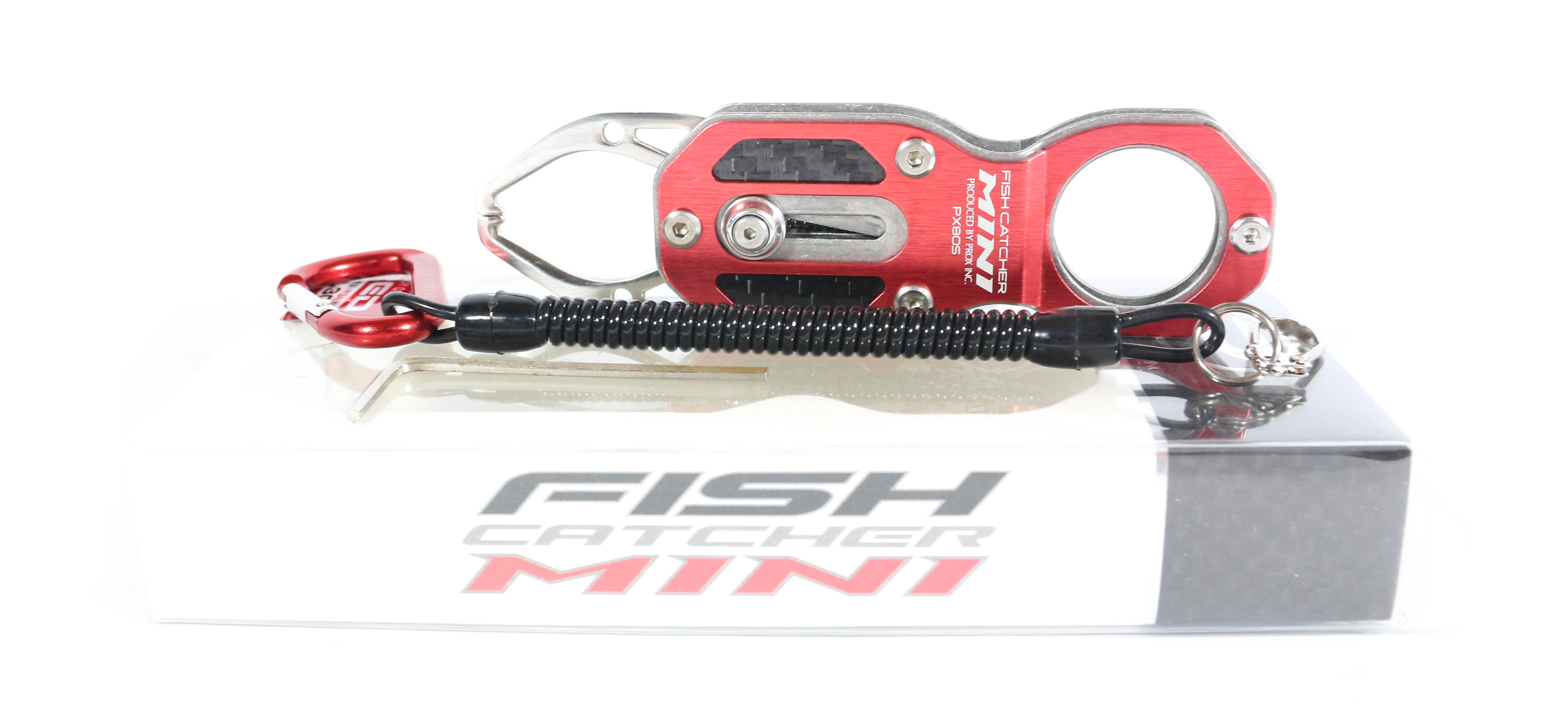 Prox PX 805R Fish Catcher Mini Fish Grip Handling Tool Red (4304)