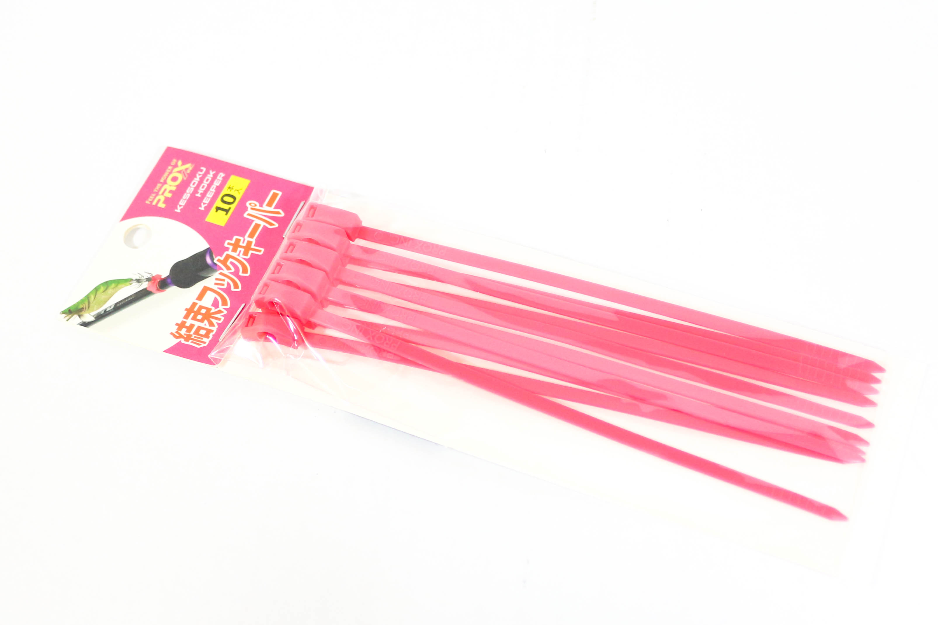 Prox PX994SP Cable Tie Hook Keeper 10/pack, 35 x 150 x 4 mm Pink (3610)