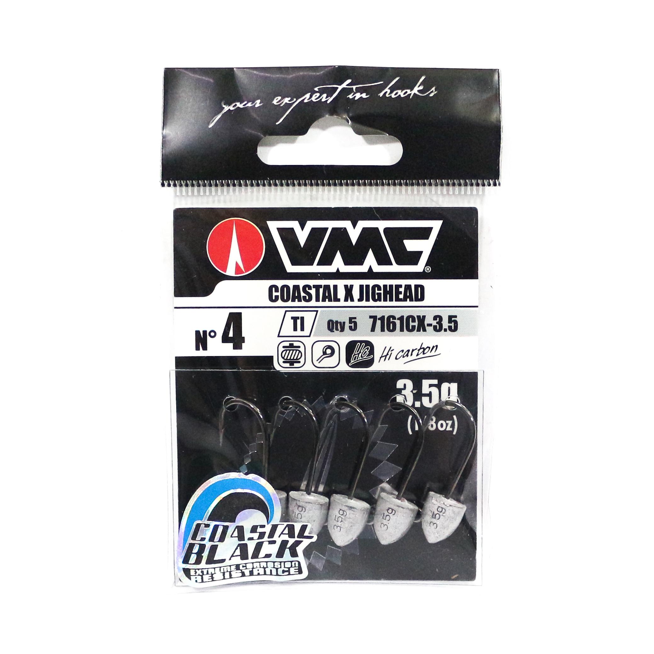 Rapala VMC V7161CX-3.5 Coastal X Jighead Size 4 , 3.5 grams 5 per pack (1062)