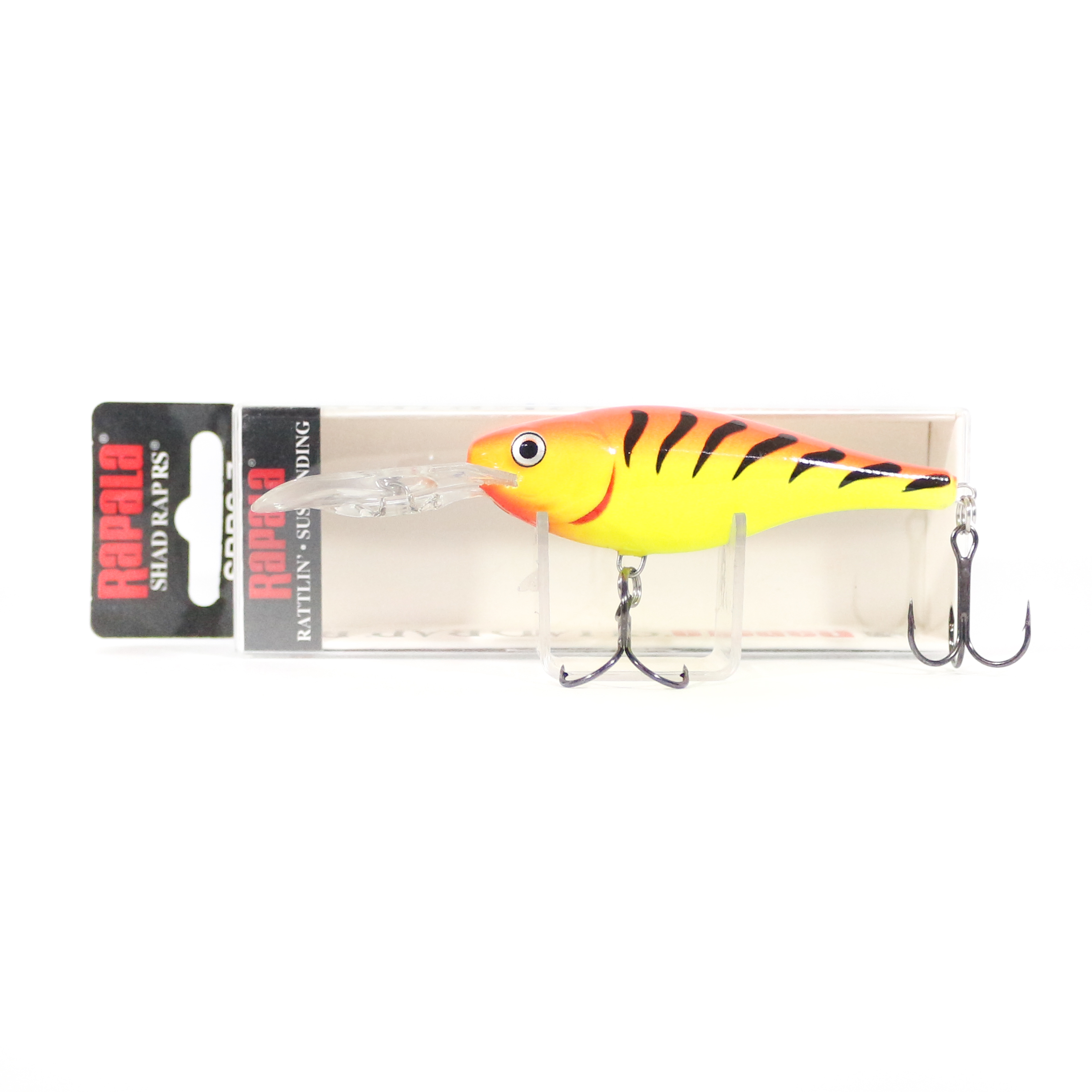Rapala Jointed Suspending 2-inch FireTiger Shad Rap Fishing Lure #JSR05 FT