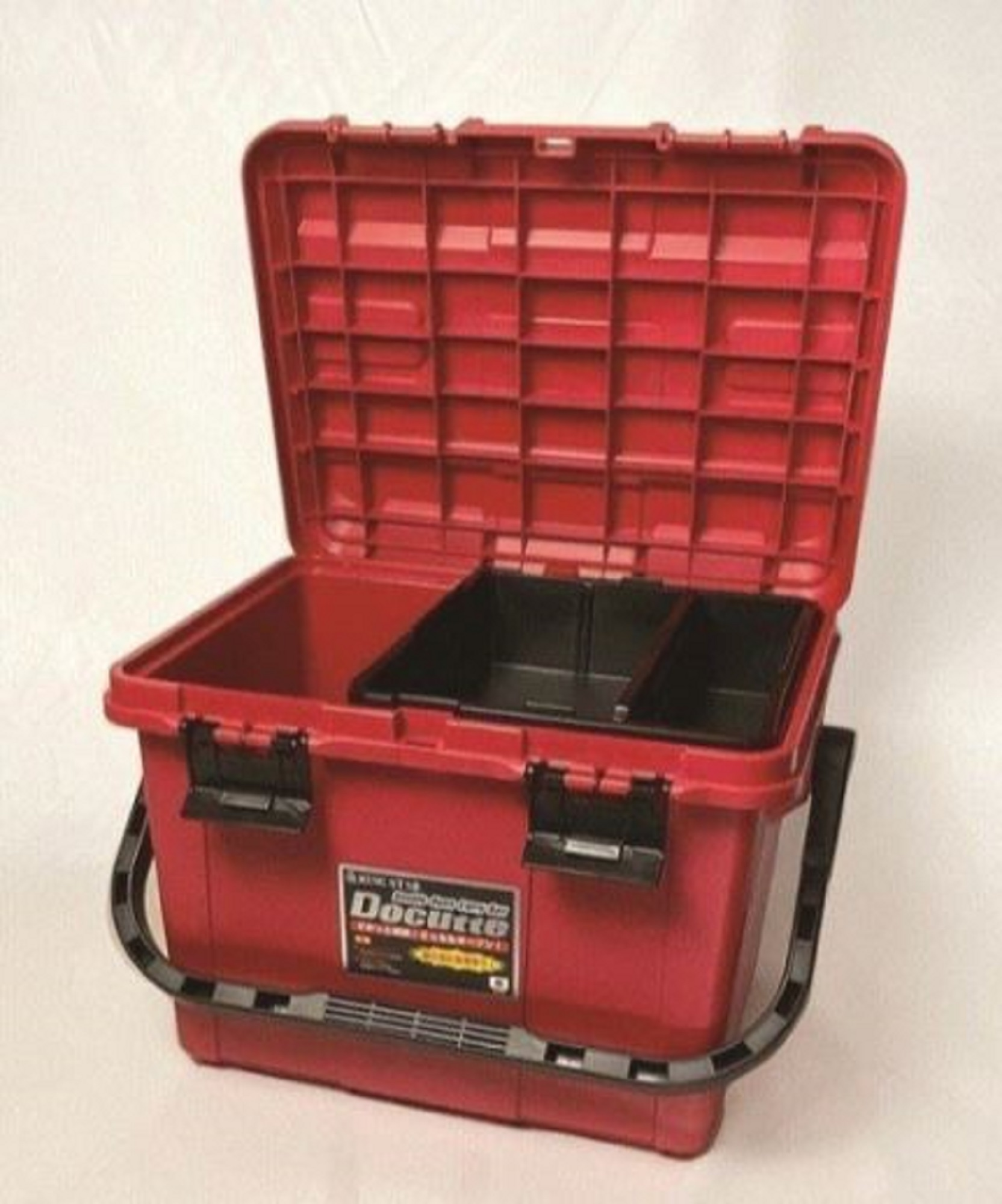 Ring Star Docutte D-5000 RB Tackle Box 538 x 359 x 347 mm Red Blk 7374
