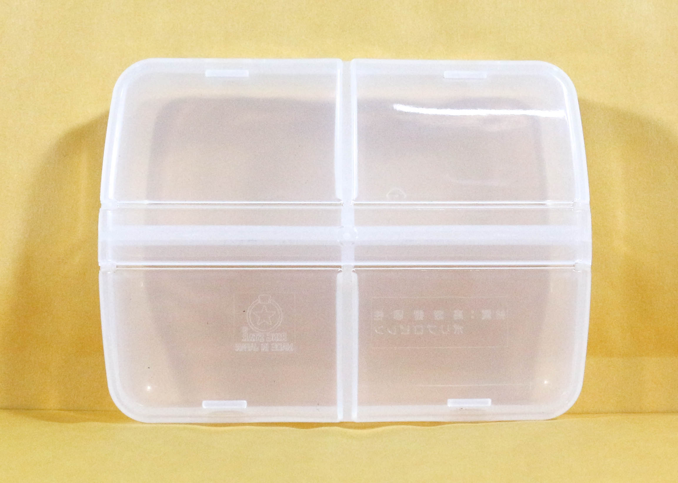 Ring Star PT-94 My Petite Tackle Box 90 x 67 x 23 mm Clear (5370)