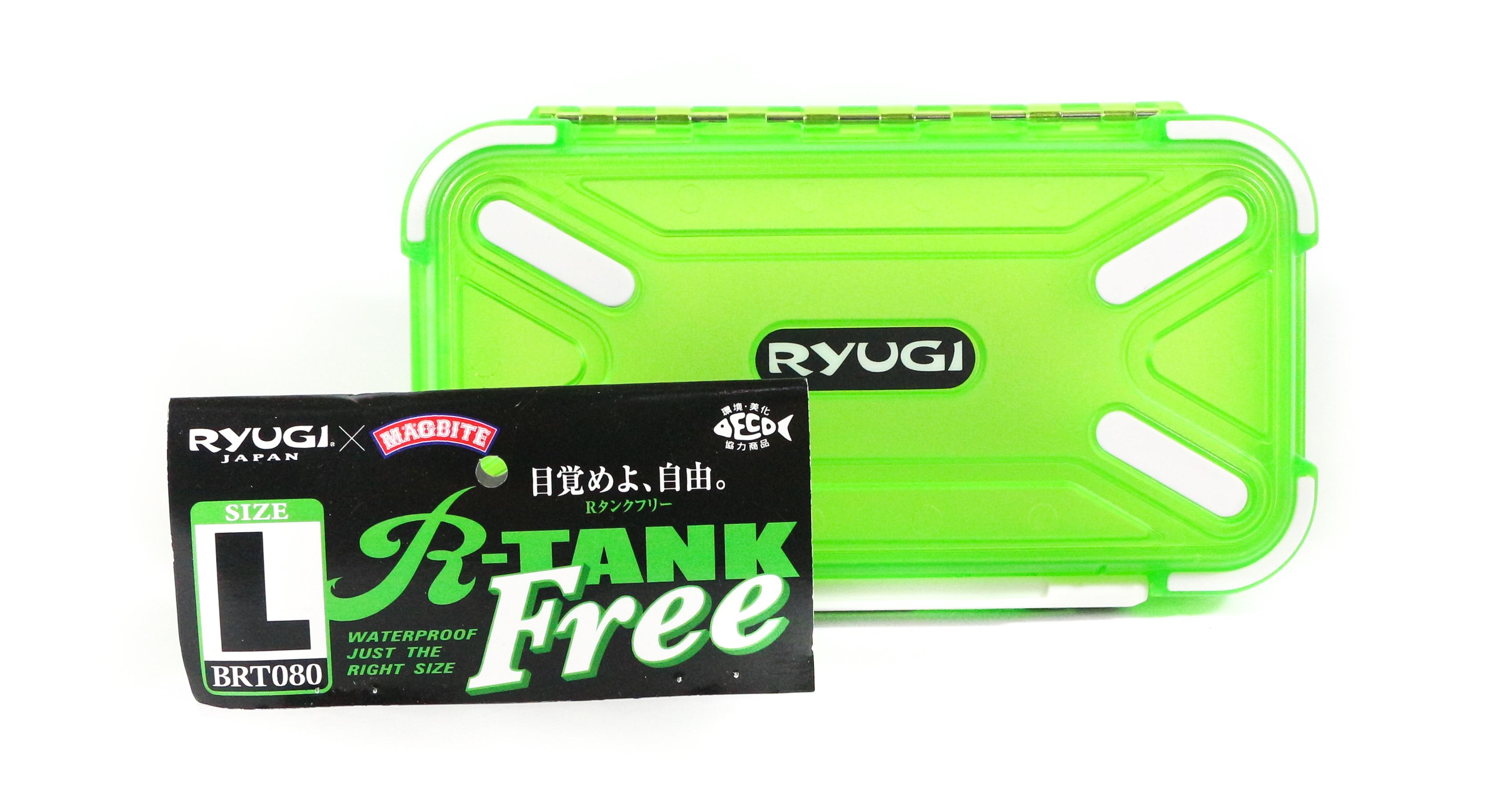 Ryugi BRT080 R-Tank Free Case Tackle Box Size L (3271)