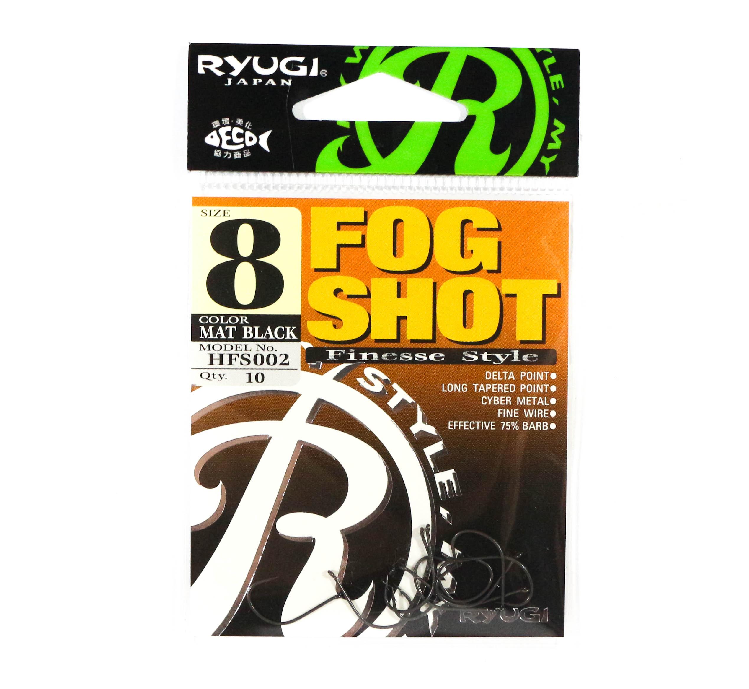 Ryugi HFS002 Fog Shot Finesse Hook Size 8 (0386)
