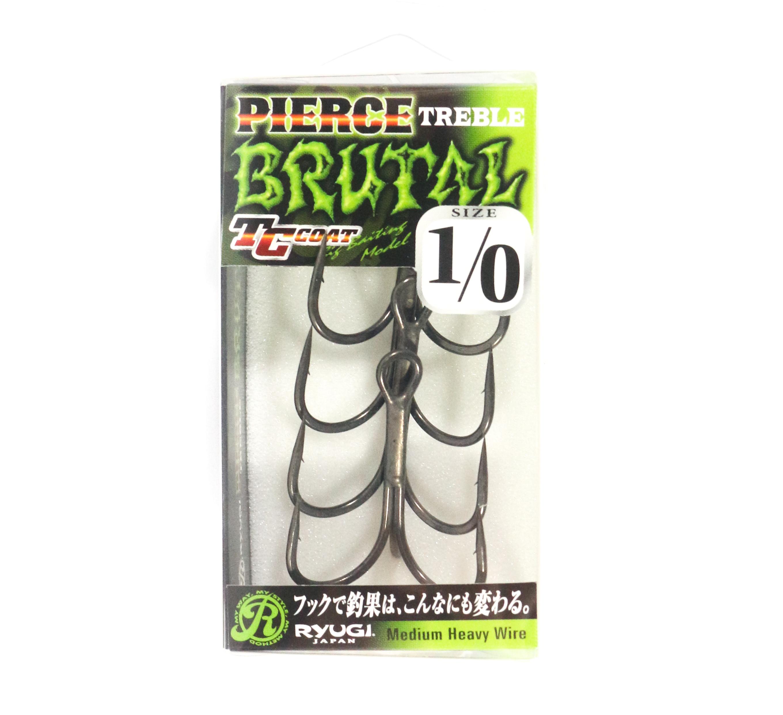 Ryugi HPB074 Pierce Brutal Treble Hooks Size 1/0 (3189)