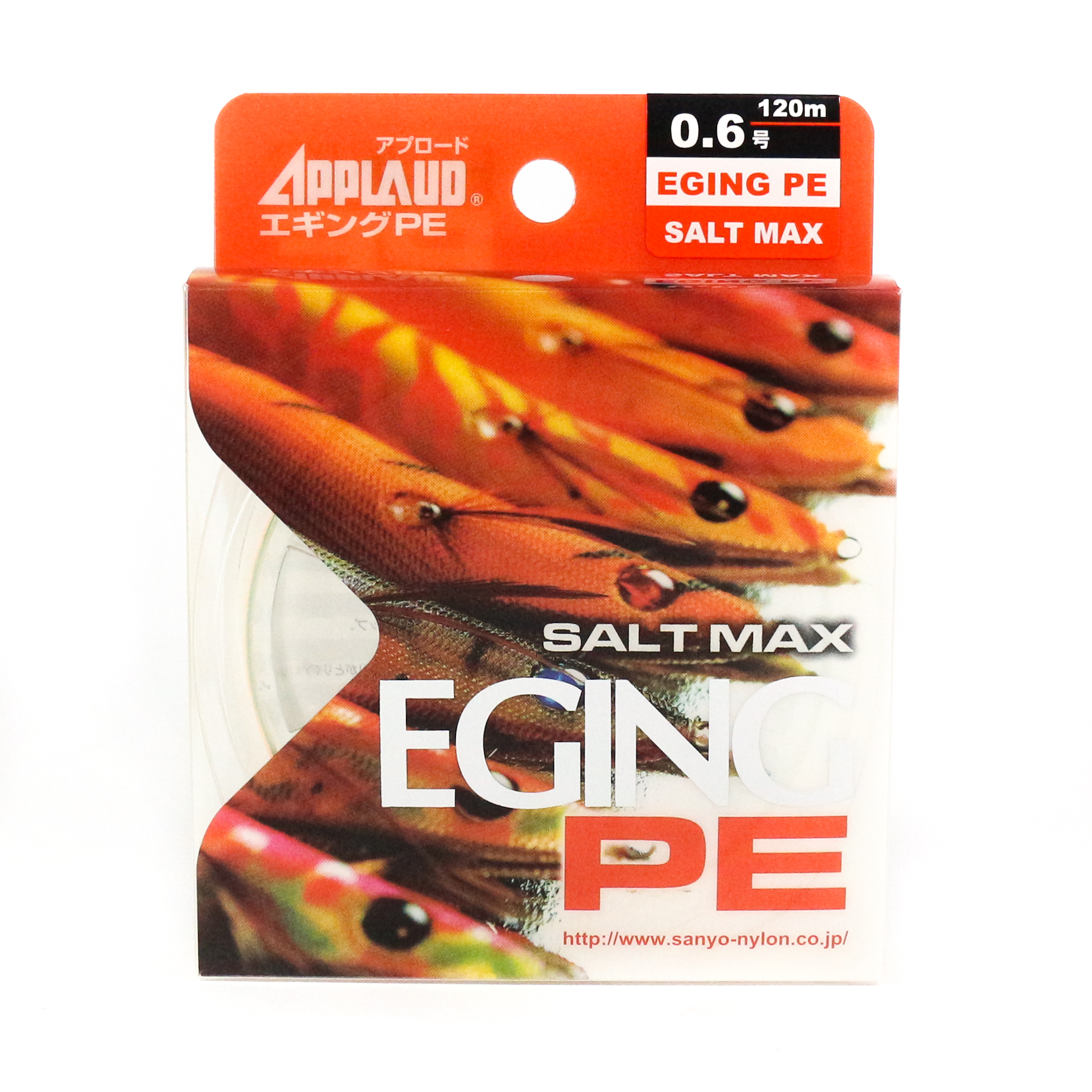 Sale Sanyo Applaud P.E Line Saltmax Eging PE 120M Multicolor P.E 0.6 (0065)