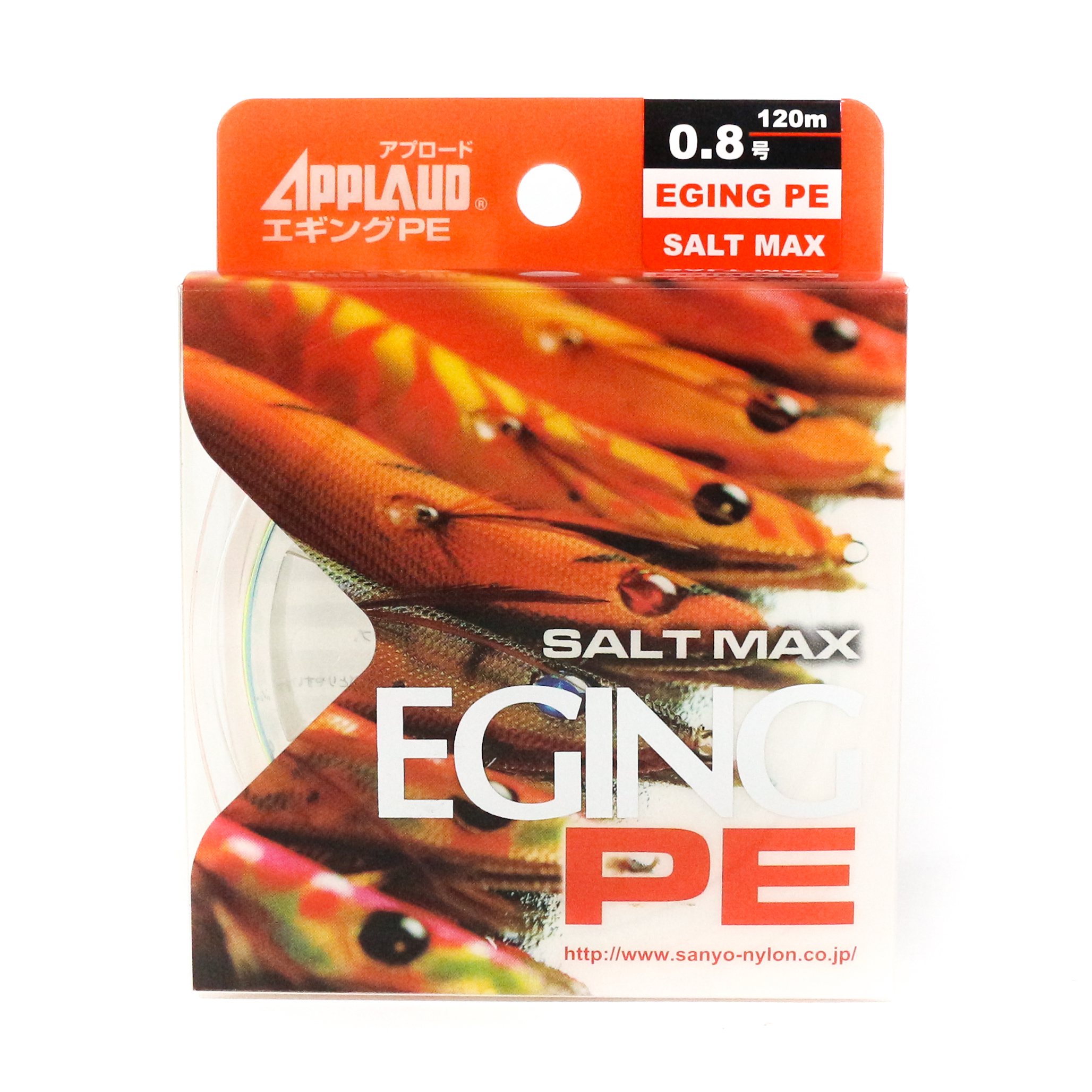 Sale Sanyo Applaud P.E Line Saltmax Eging PE 120M Multicolor P.E 0.8 (0089)