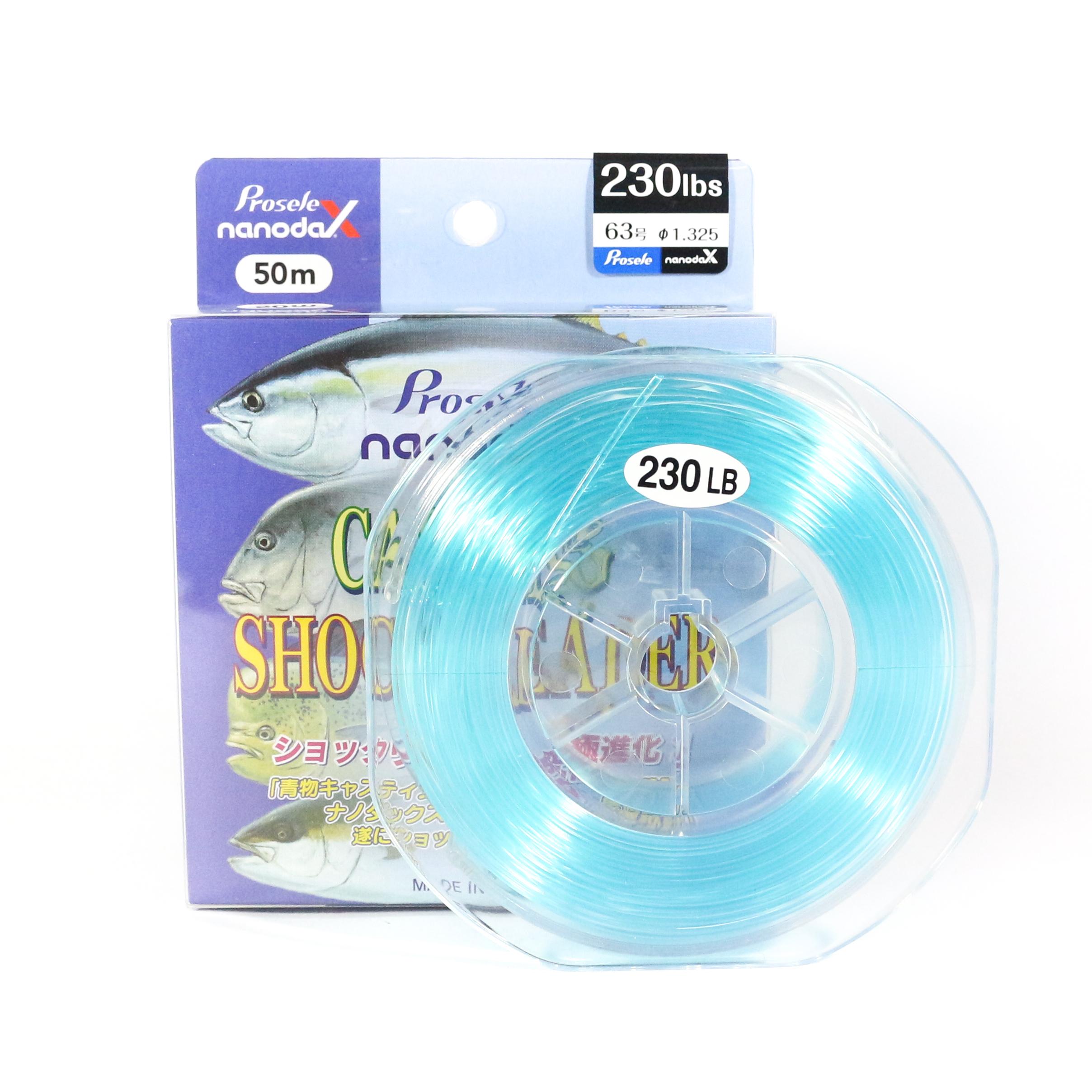 Sanyo Prosele Nanodax Nylon Shock Leader 50M 230lb (0823)