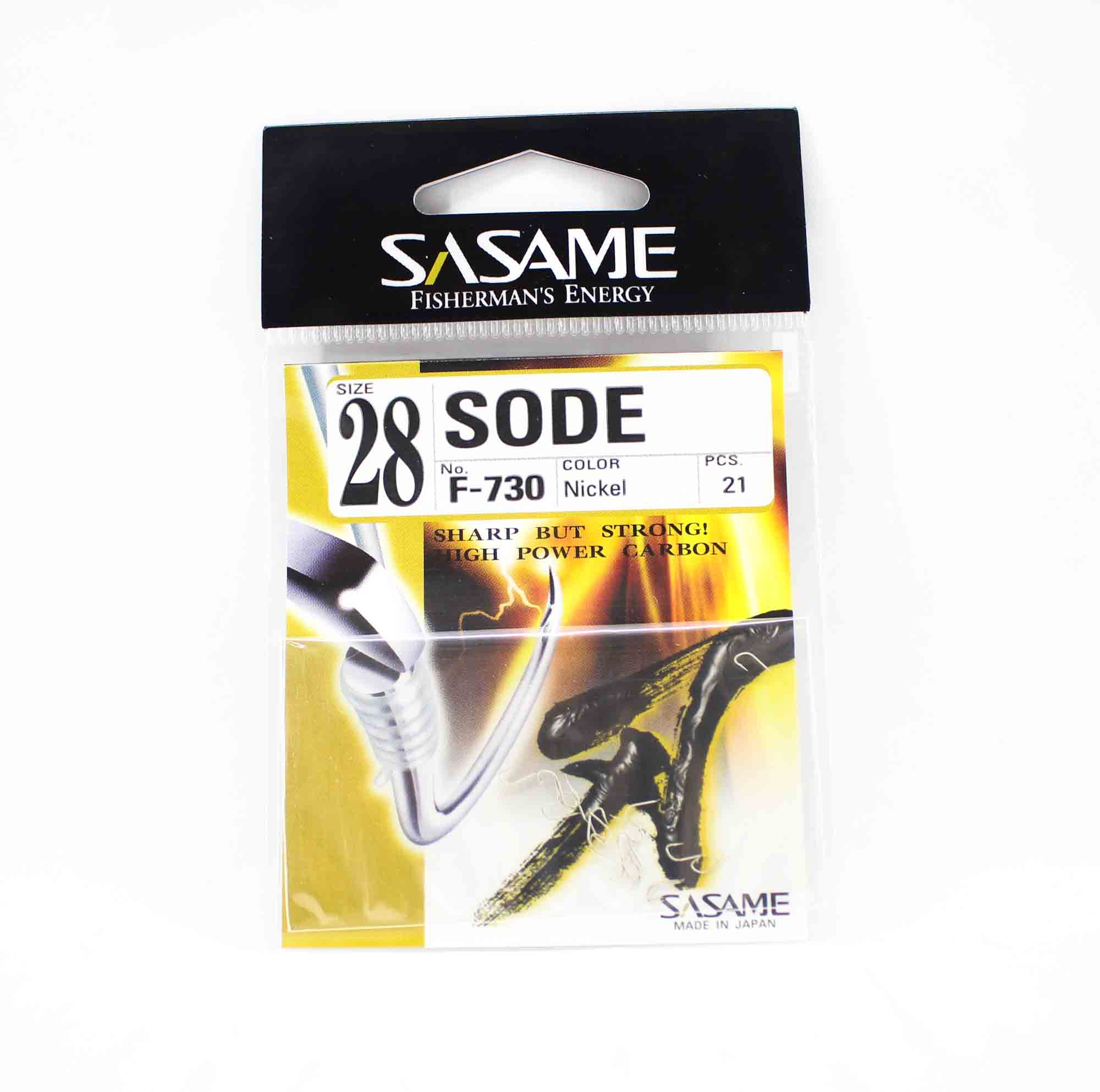 Sasame F-730 Sode Micro Hook Size 28 (1508)