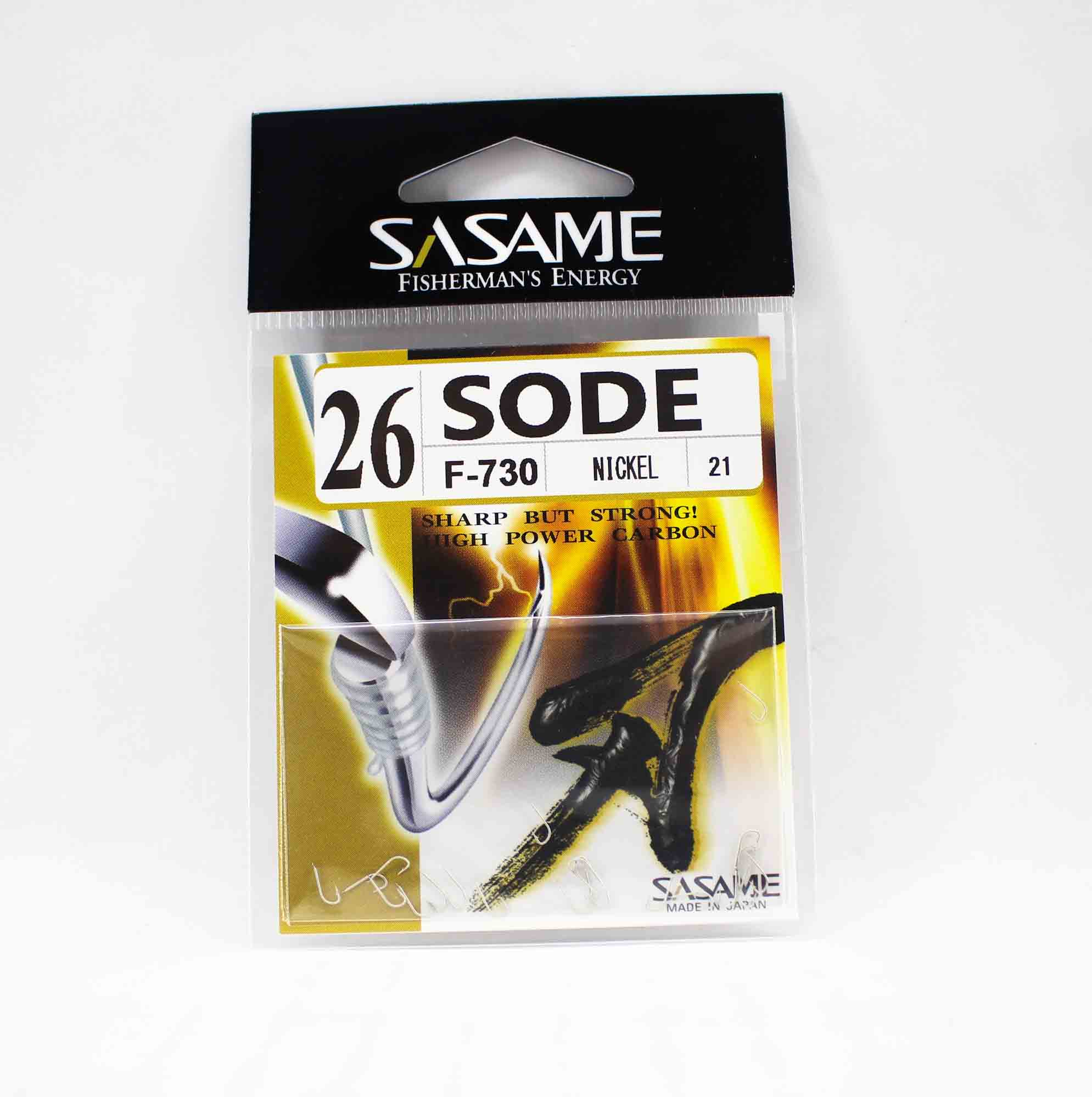 Sasame F-730 Sode Micro Hook Size 26 (1515)