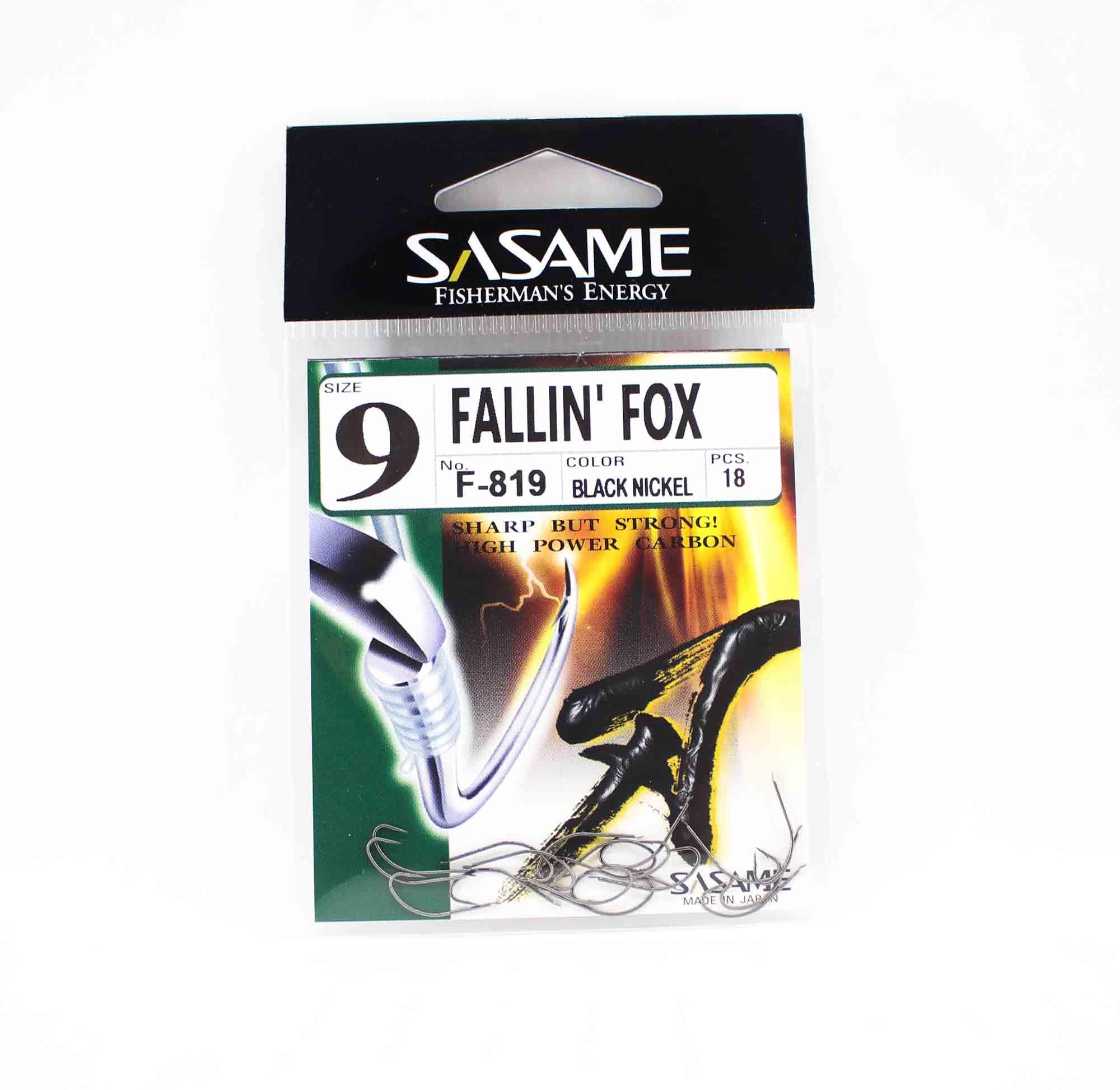 Sasame F-819 Falling Fox Bait Hook Size 9 (5858)