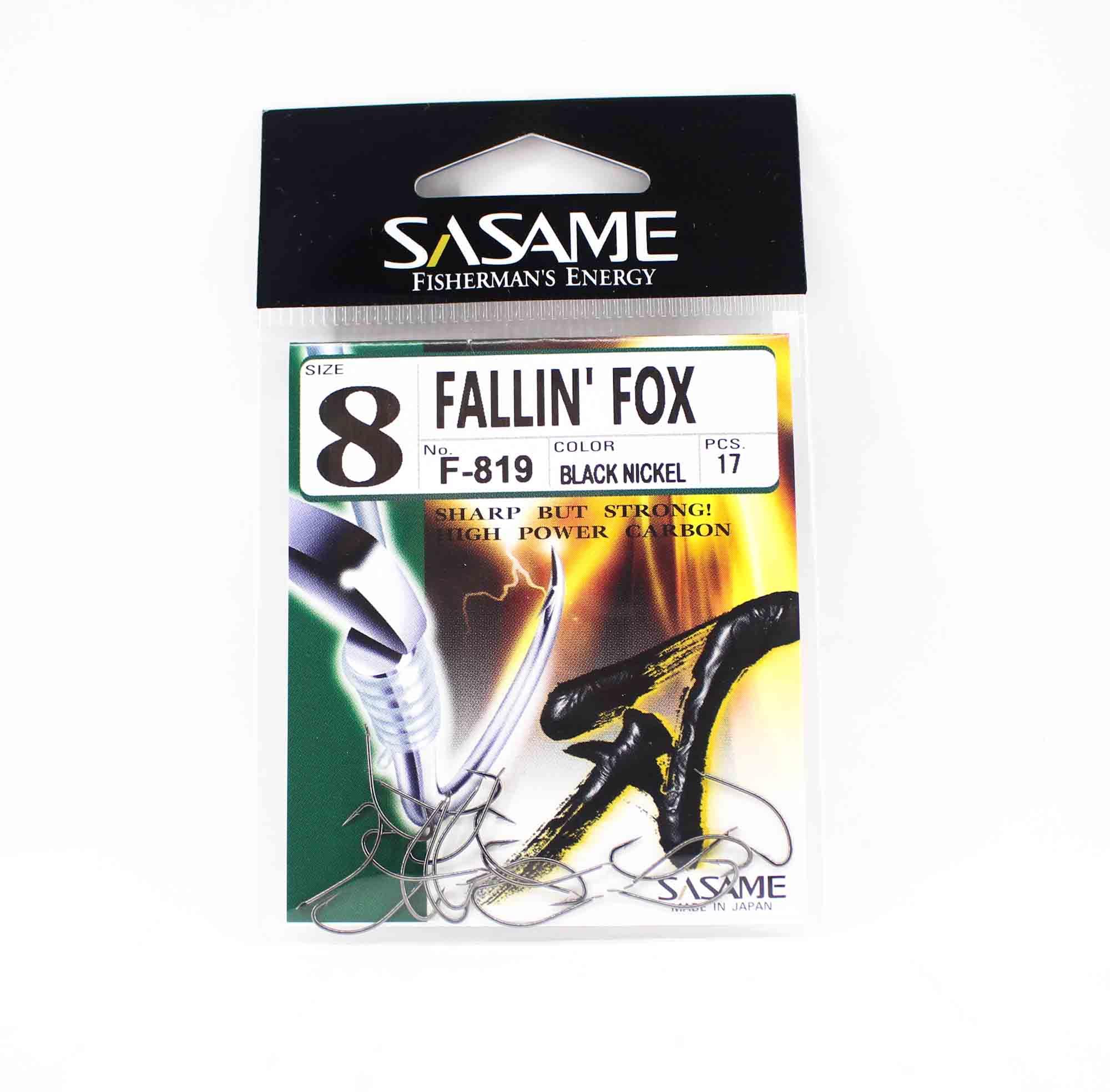 Sasame F-819 Falling Fox Bait Hook Size 8 (5865)