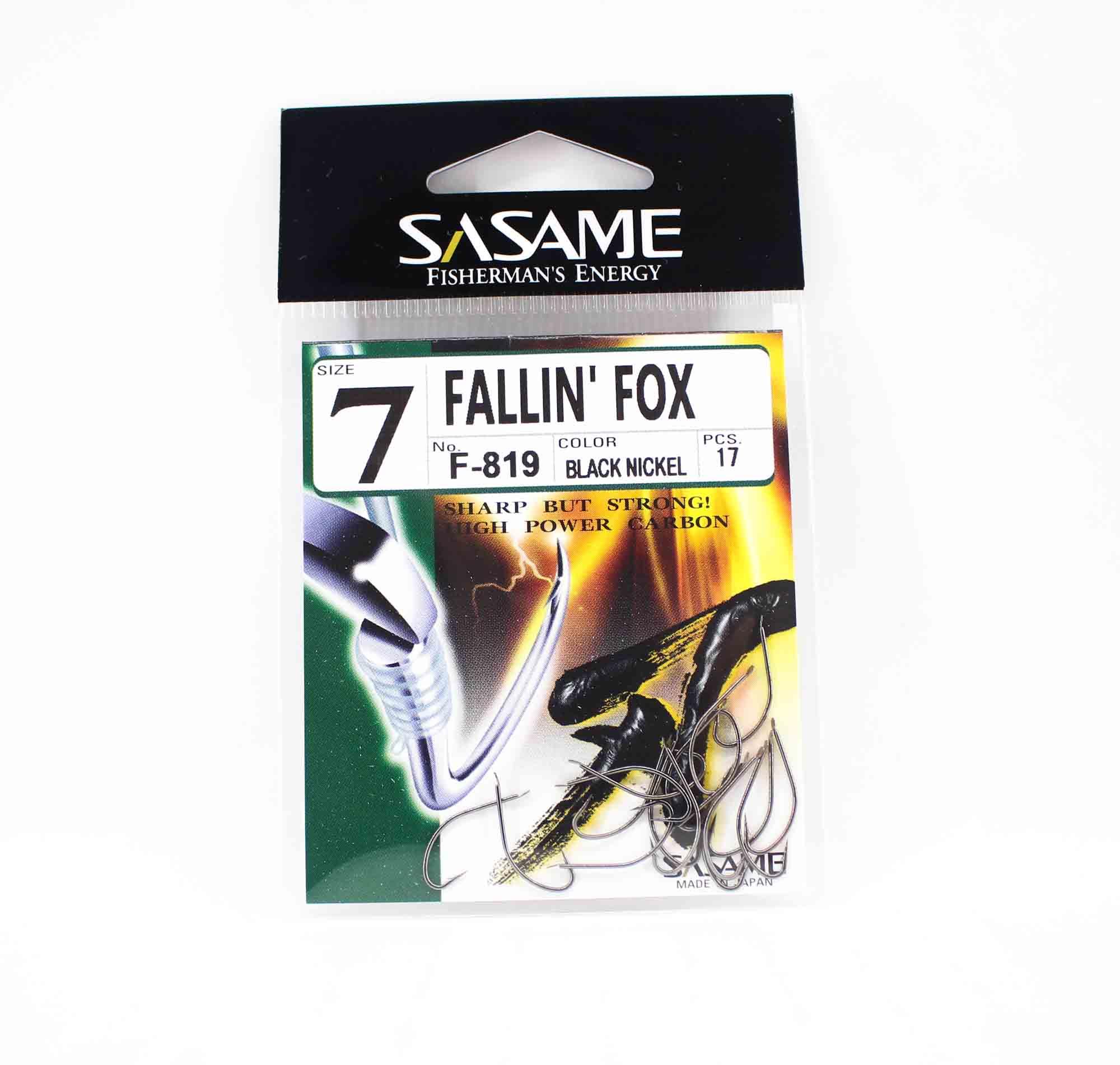 Sasame F-819 Falling Fox Bait Hook Size 7 (5872)