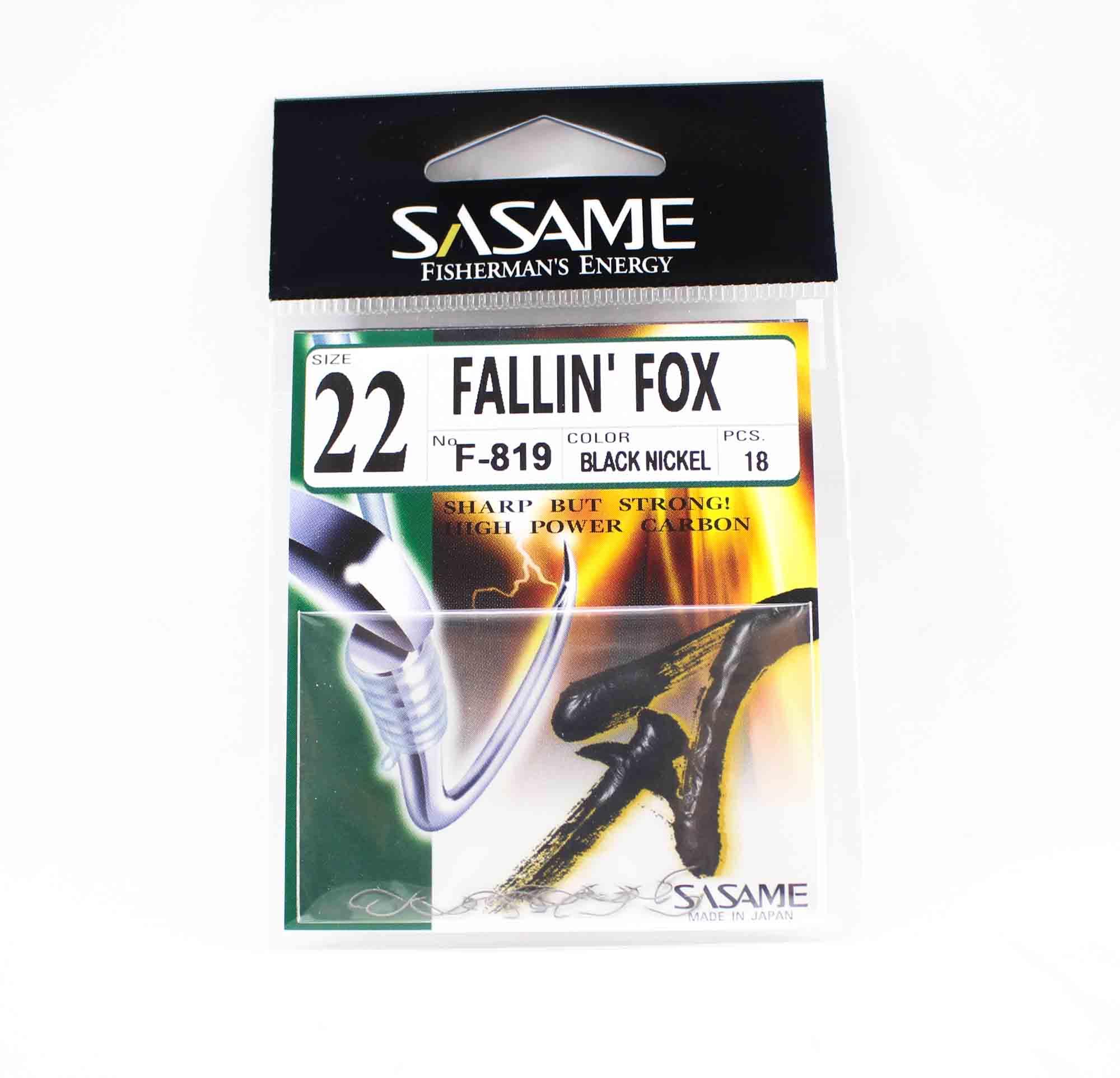 Sasame F-819 Falling Fox Bait Hook Size 22 (6015)