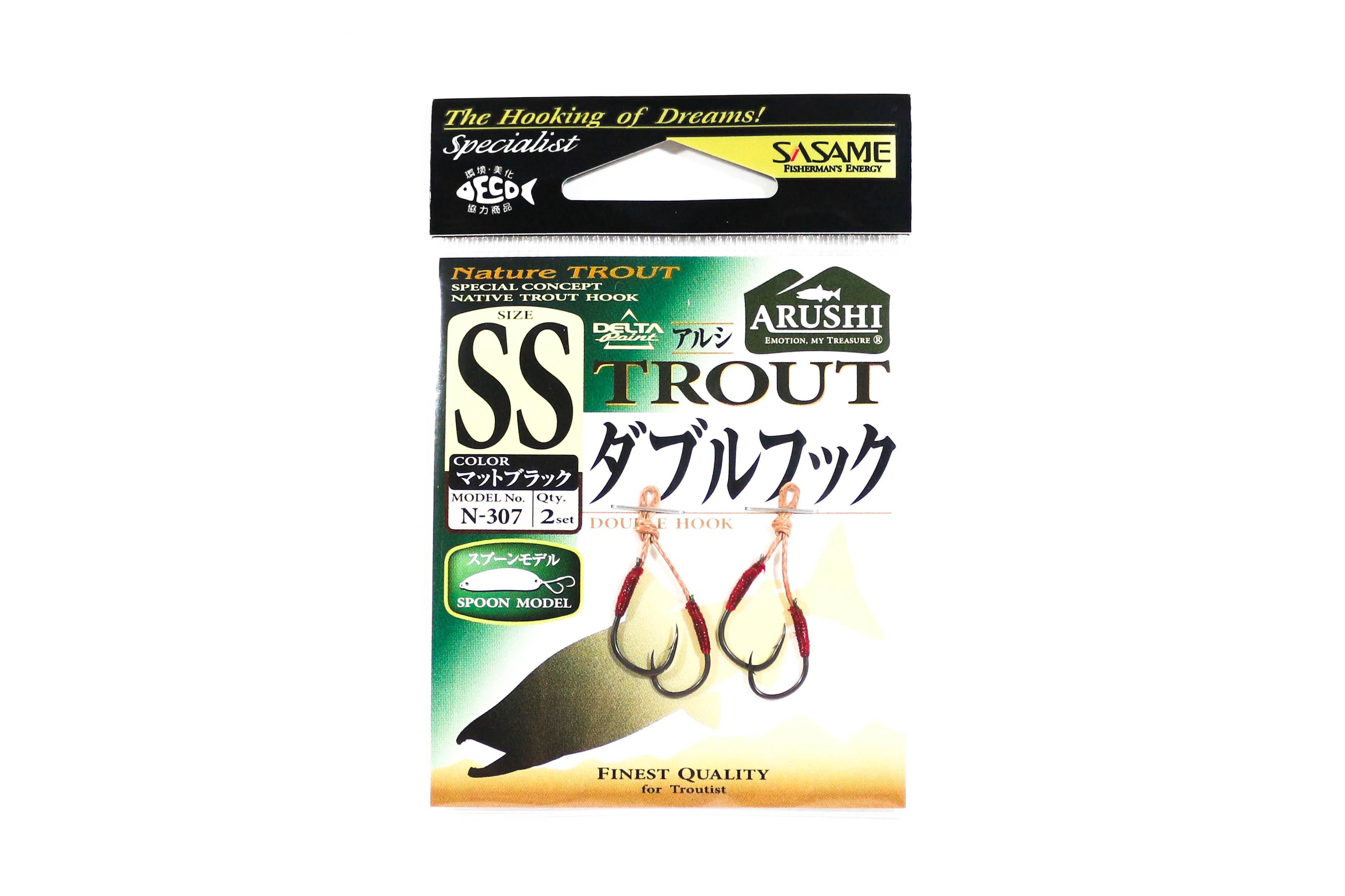 Sasame TEN-1B Tenka Treble Hook Size 6 6601