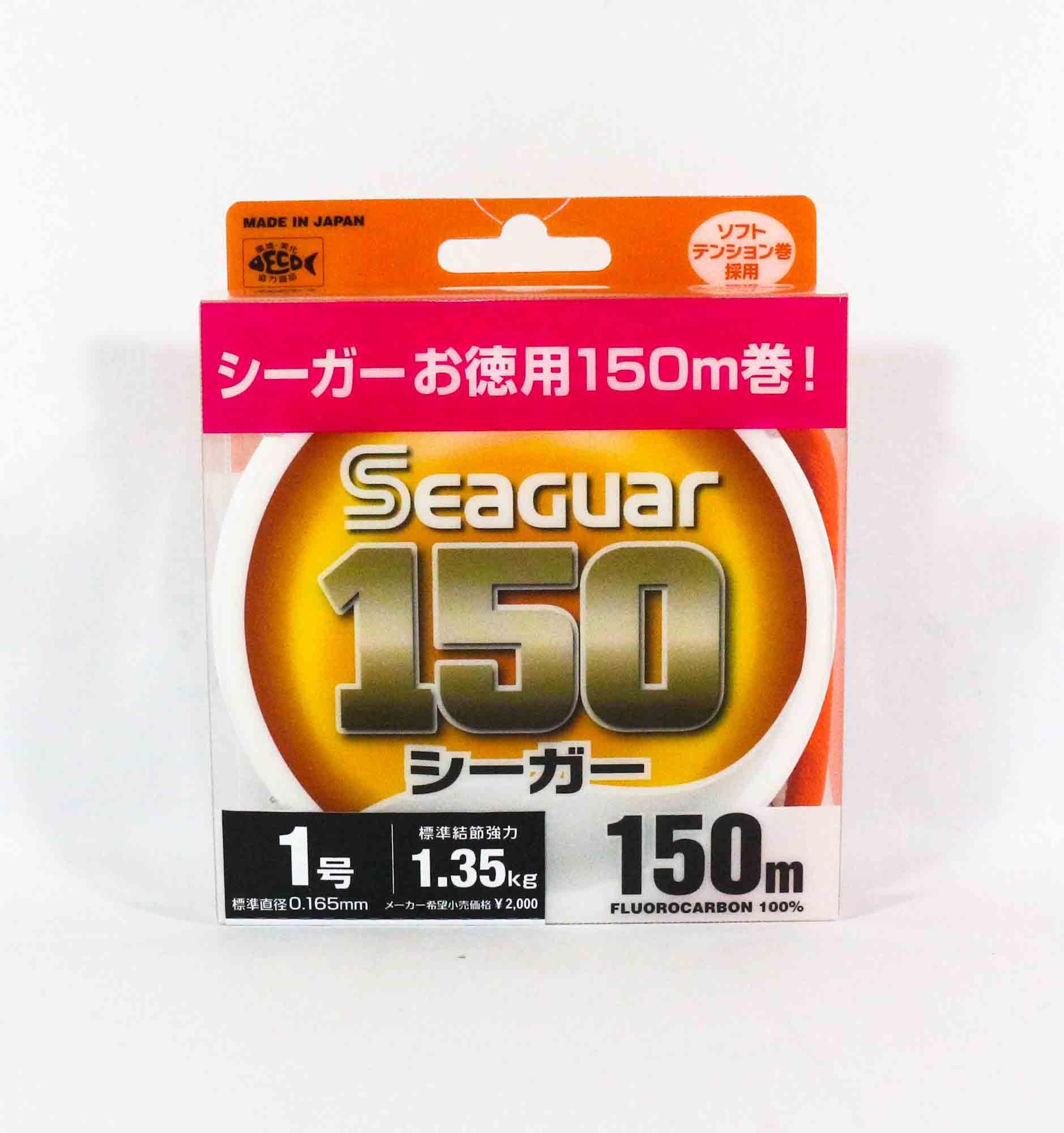 Seaguar 150 150m Fluorocarbon Line 150m Size 1 4lb (0751)