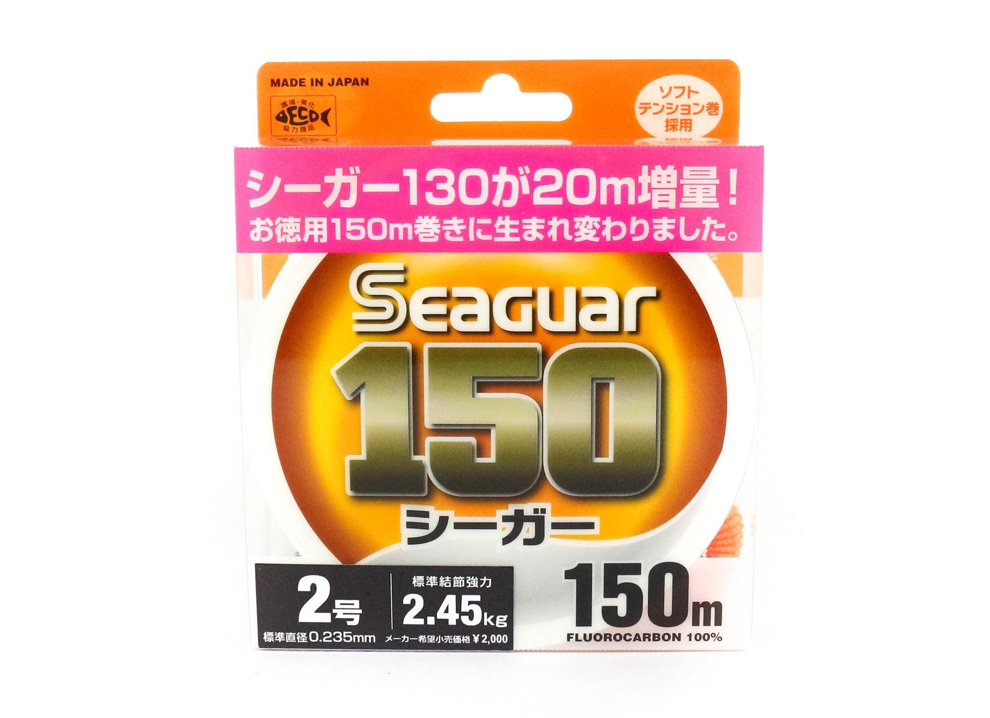 Seaguar 150 150m Fluorocarbon Line 150m Size 2 8lb (0799)