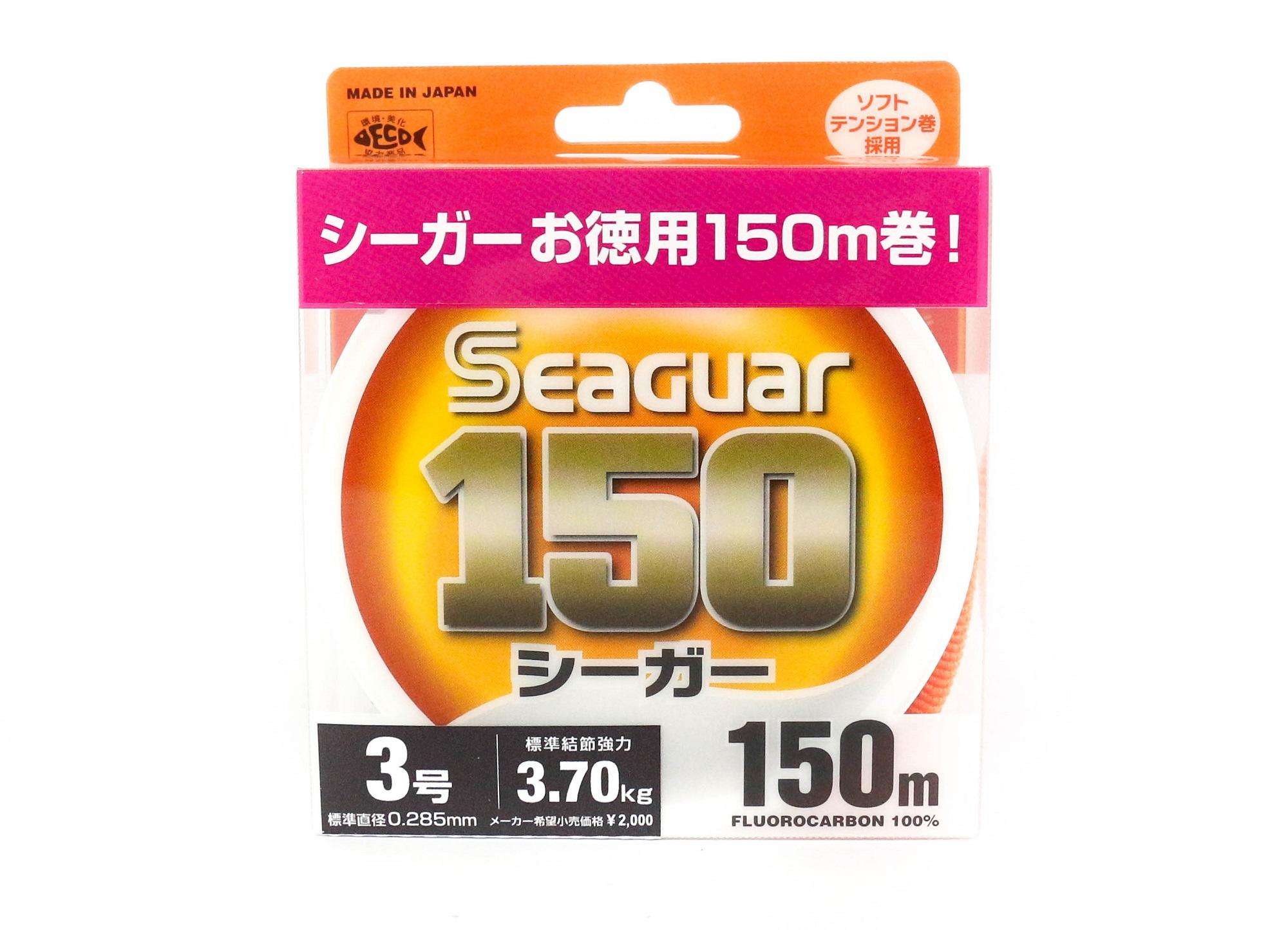 Seaguar 150 150m Fluorocarbon Line 150m Size 3 12lb (0812)