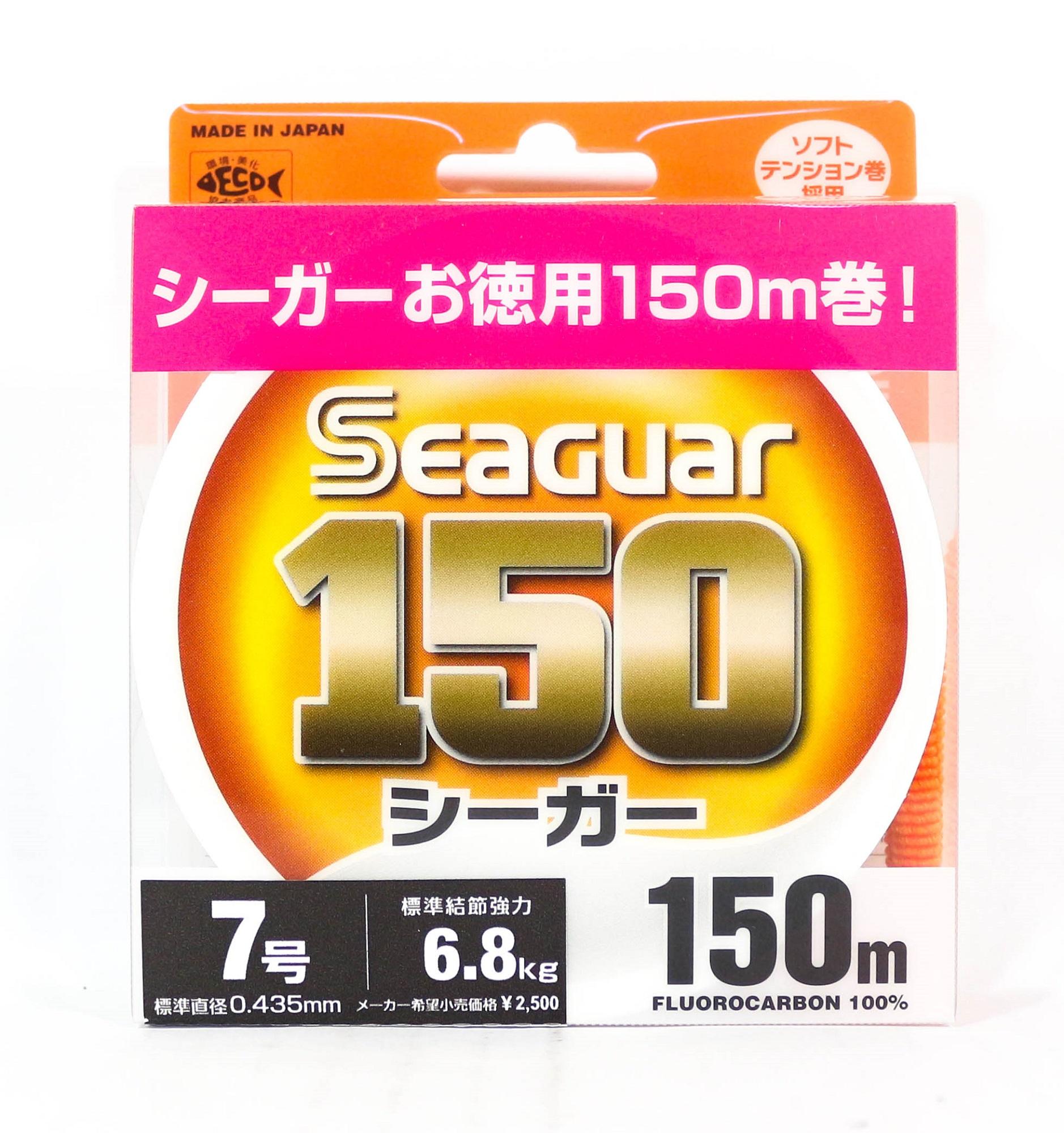 Seaguar 150 150m Fluorocarbon Line 150m Size 7 27lb (0867)