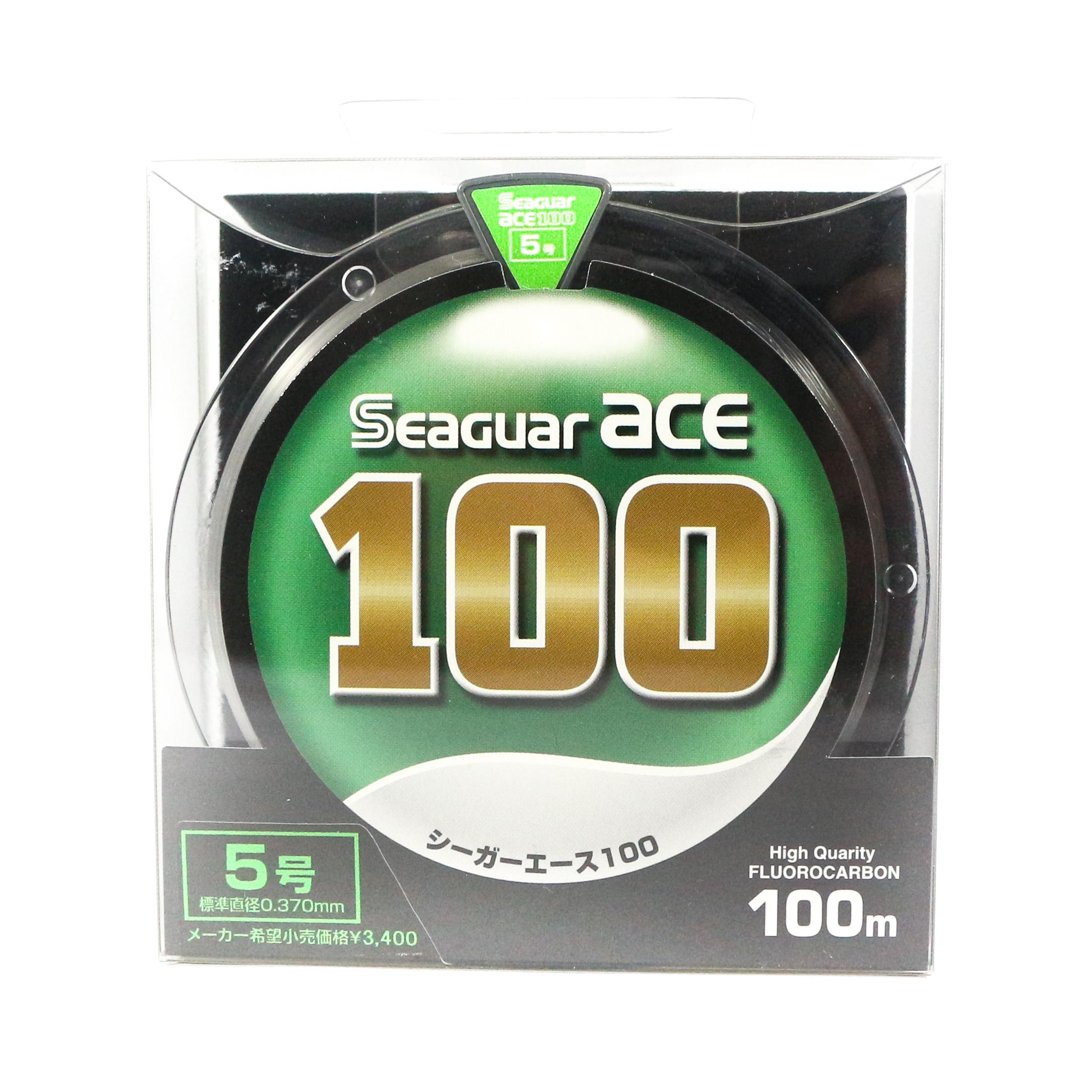Seaguar Ace Fluorocarbon Leader Line 100m Size 5 - 5.9kg - 0.37mm (1315)