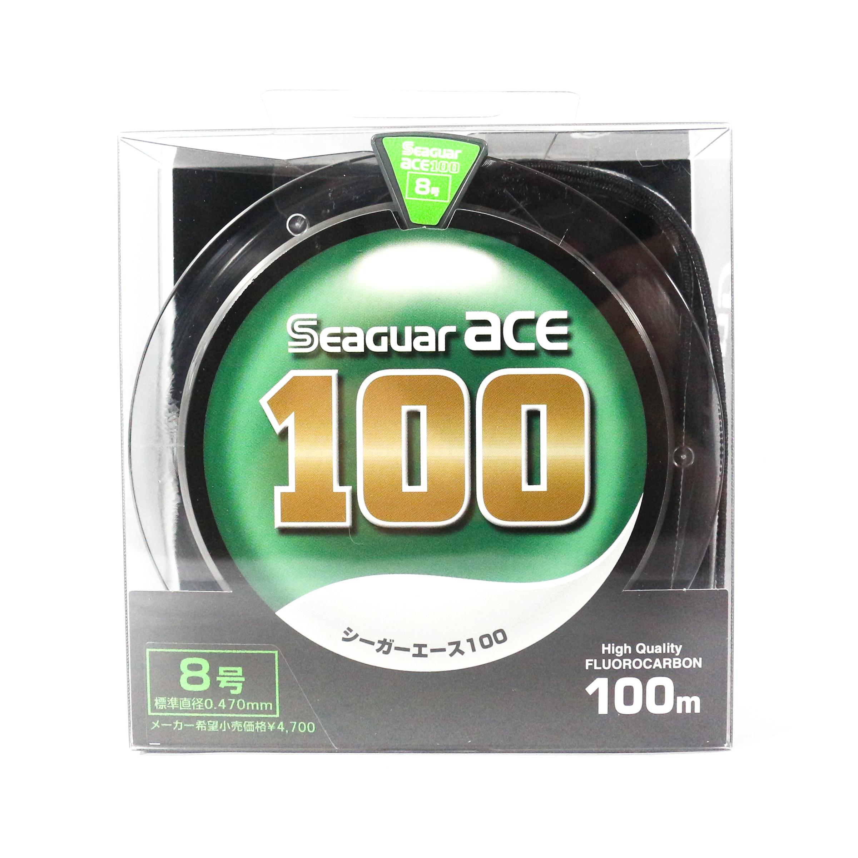 Seaguar Ace Fluorocarbon Leader Line 100m Size 8 - 8.5kg - 0.47mm (1346)