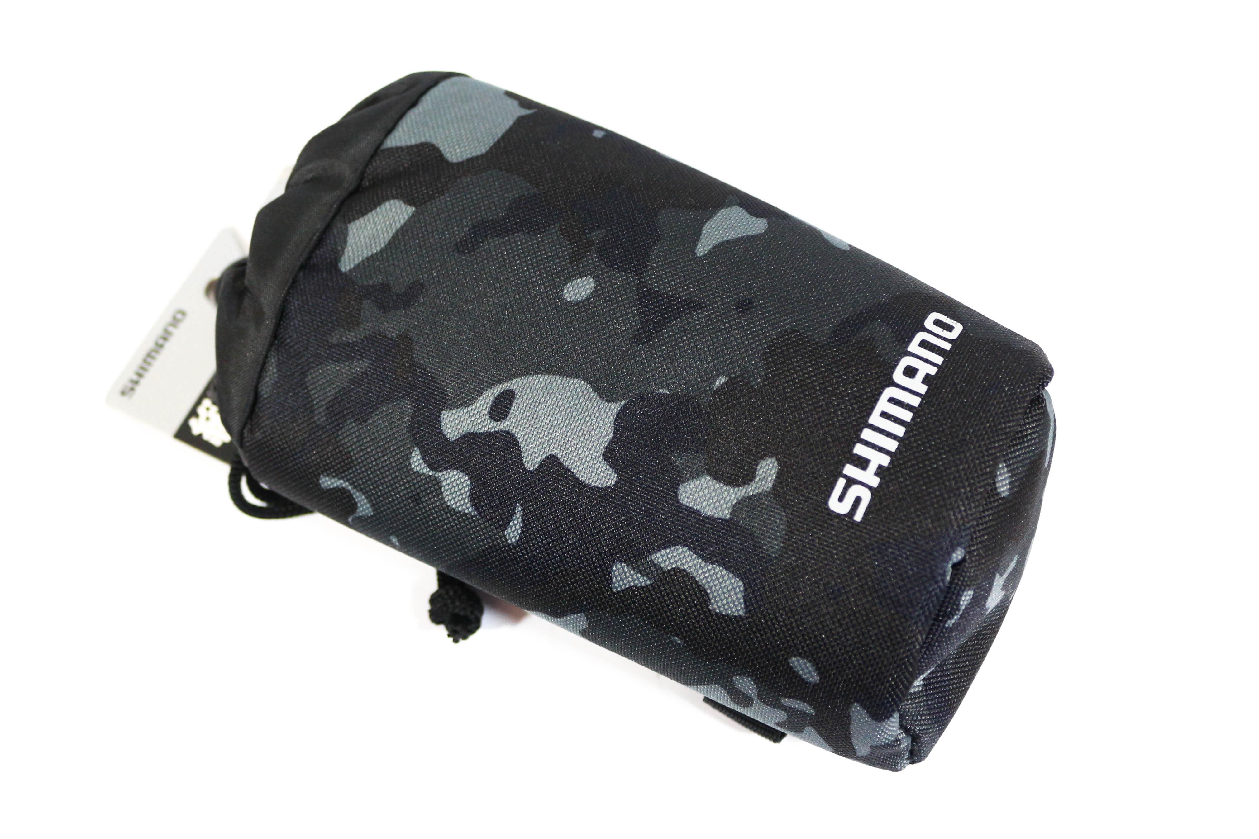 Shimano BP-065S Bottle Holder Clip on Black Camo 631145