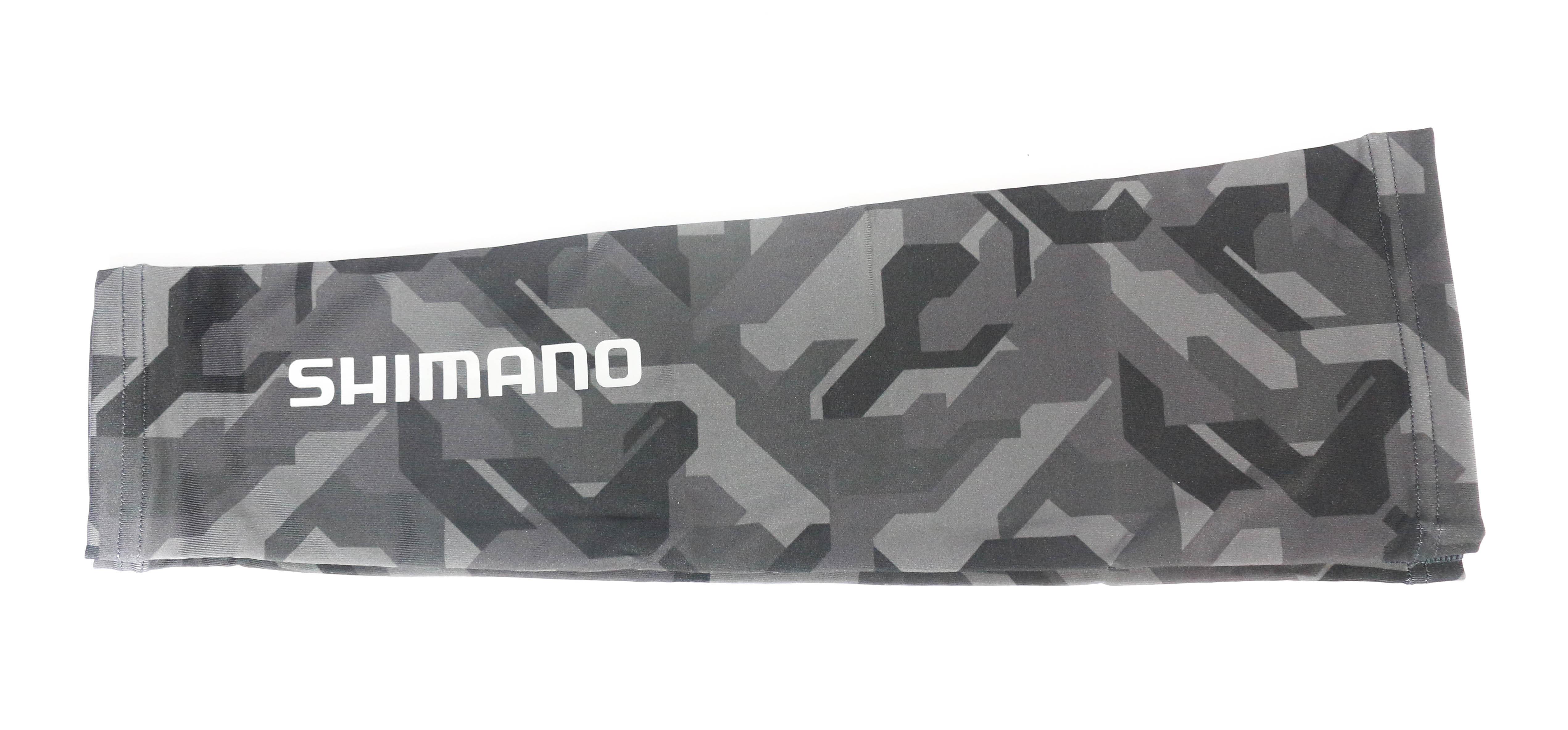 Shimano AC-067Q Arm Sleeves Black Camo Free Size 480477