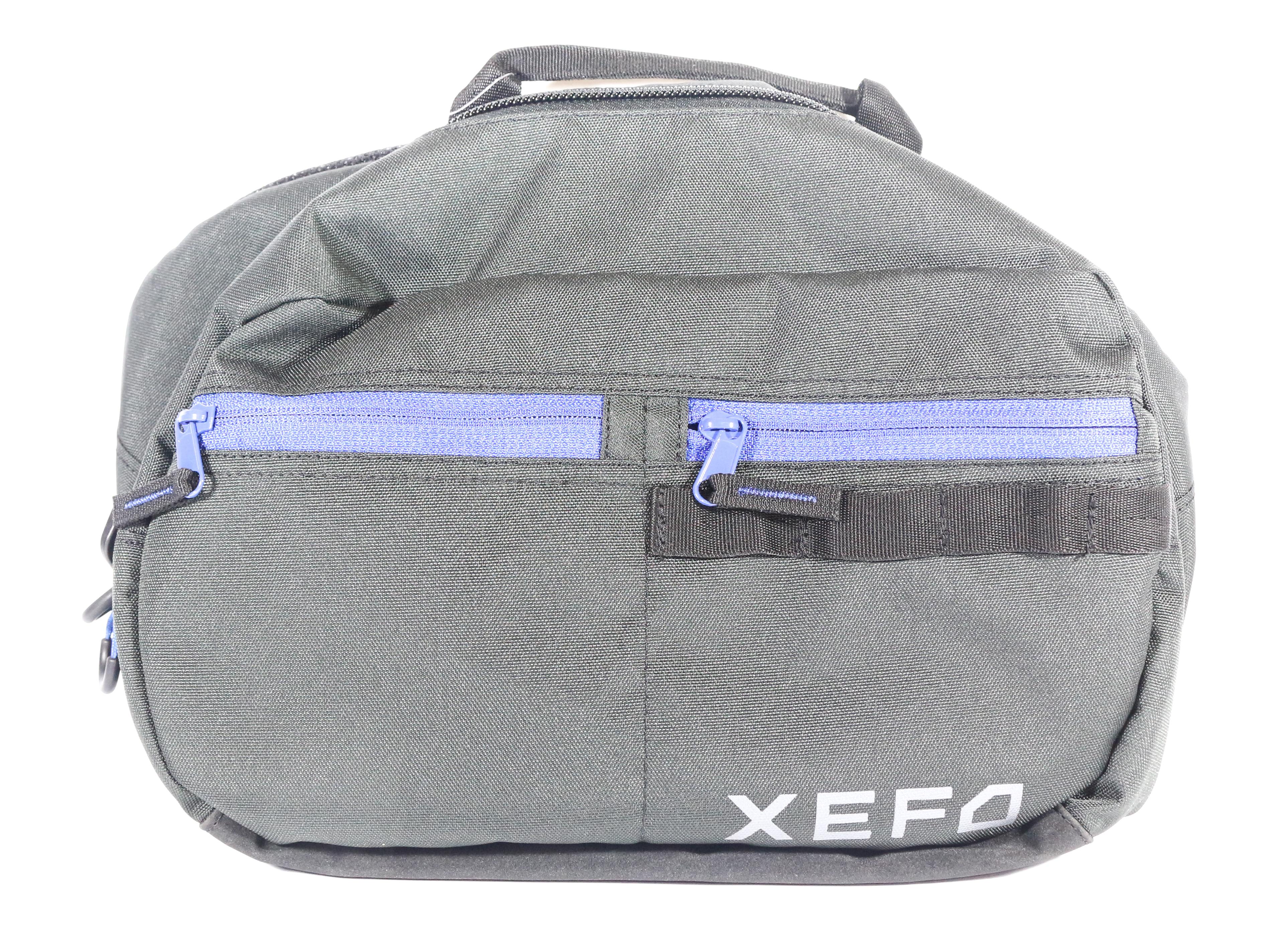Shimano WB-223P XEFO Hip Bag 17 x 33.5 x 22 cm Black Blue 451736