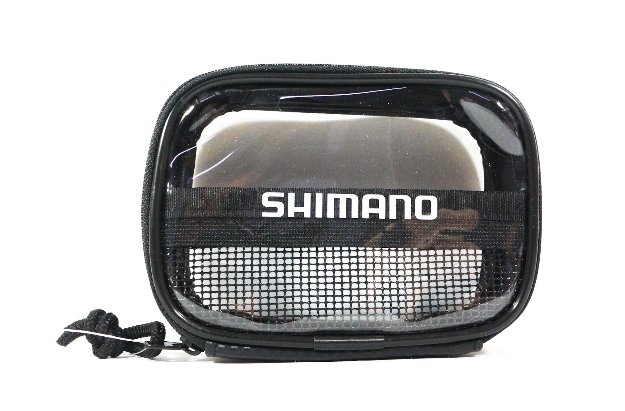 Shimano PC-023I Case Pouch 9 x 125 x 5cm Single Zip Black 718136