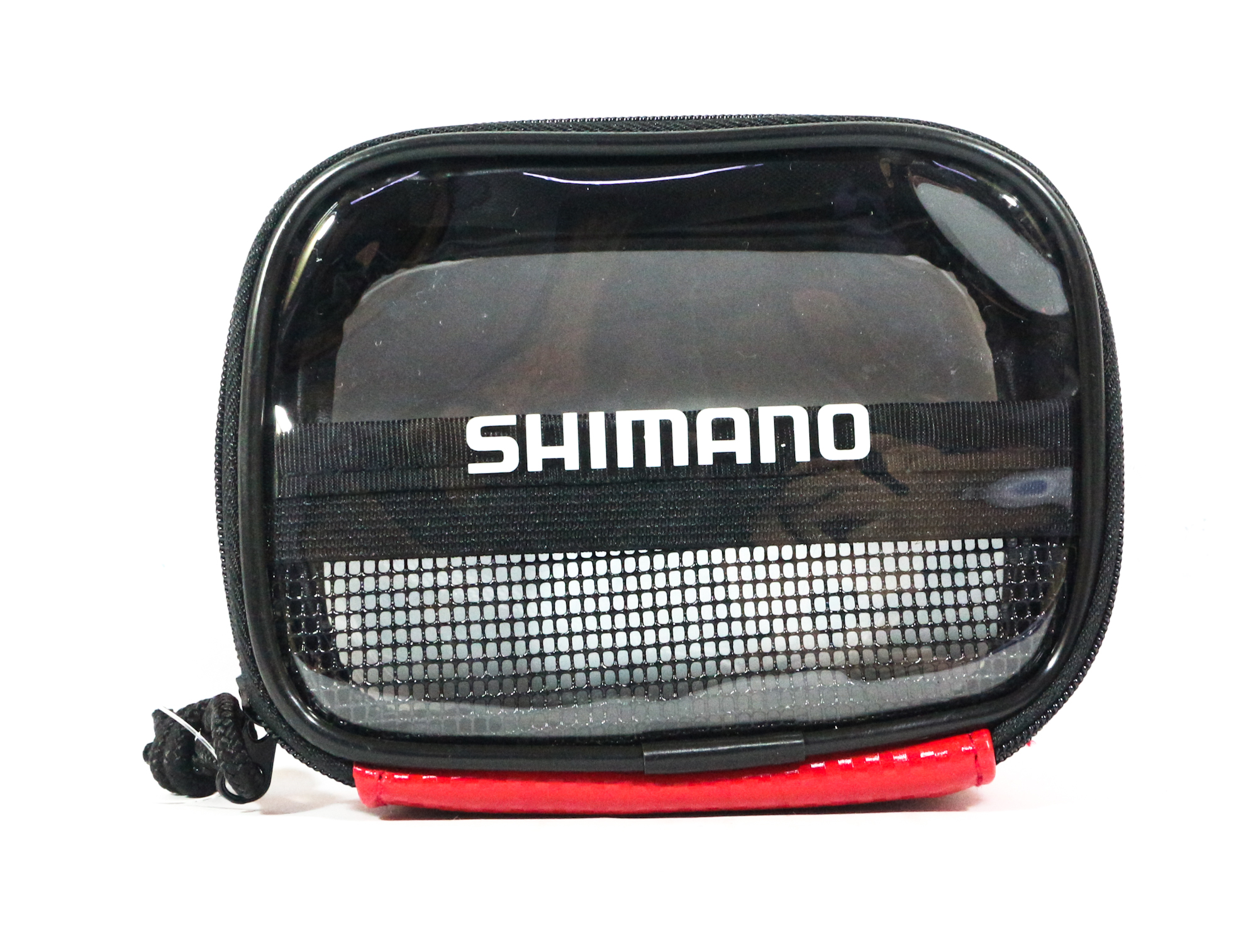 Shimano PC-023I Case Pouch 9 x 125 x 5cm Single Zip Red 718143