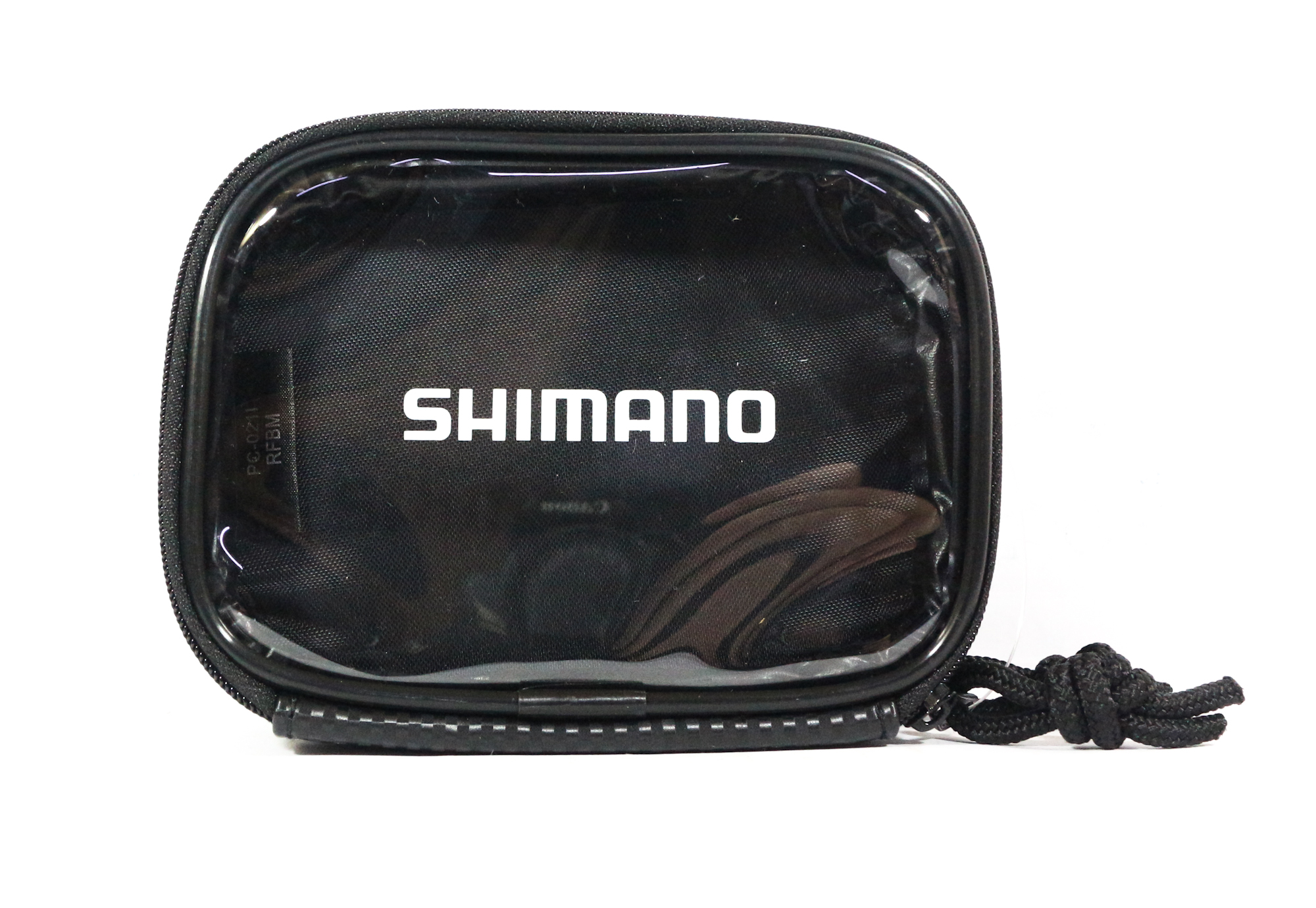 Shimano PC-021I Case Pouch 9 x 125 x 5cm Double Zip Black 718150