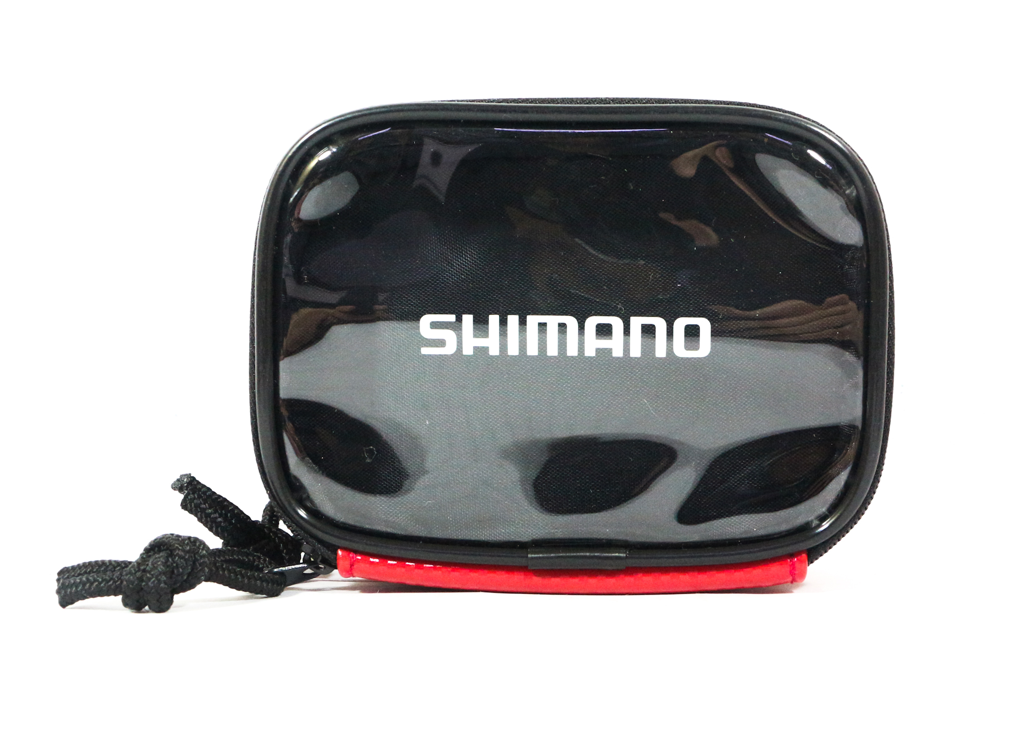 Shimano PC-021I Case Pouch 9 x 125 x 5cm Double Zip Red 718167