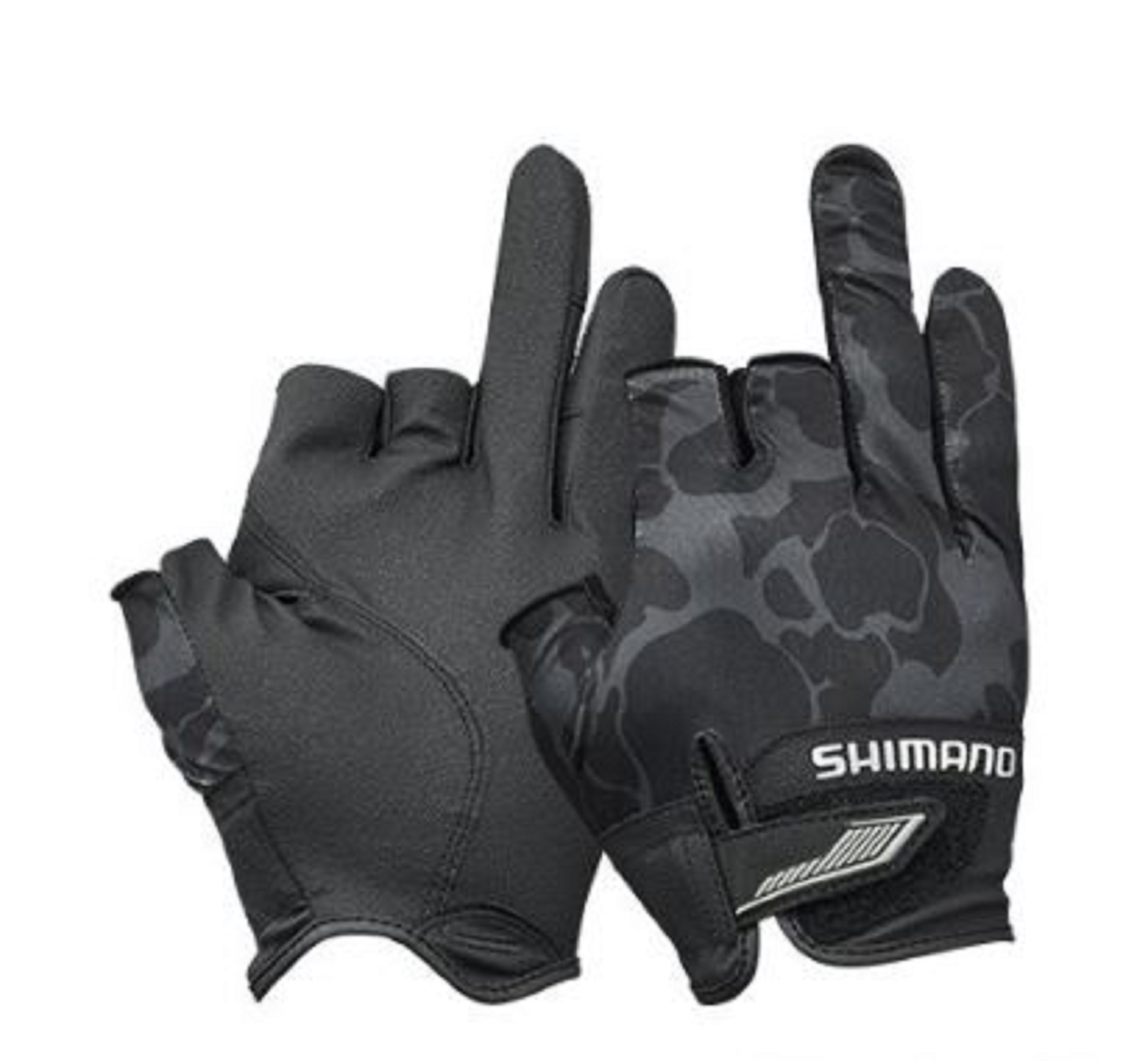 Shimano GL-021S Gloves 3D Casting 3 Fingerless Black Size XL 669483