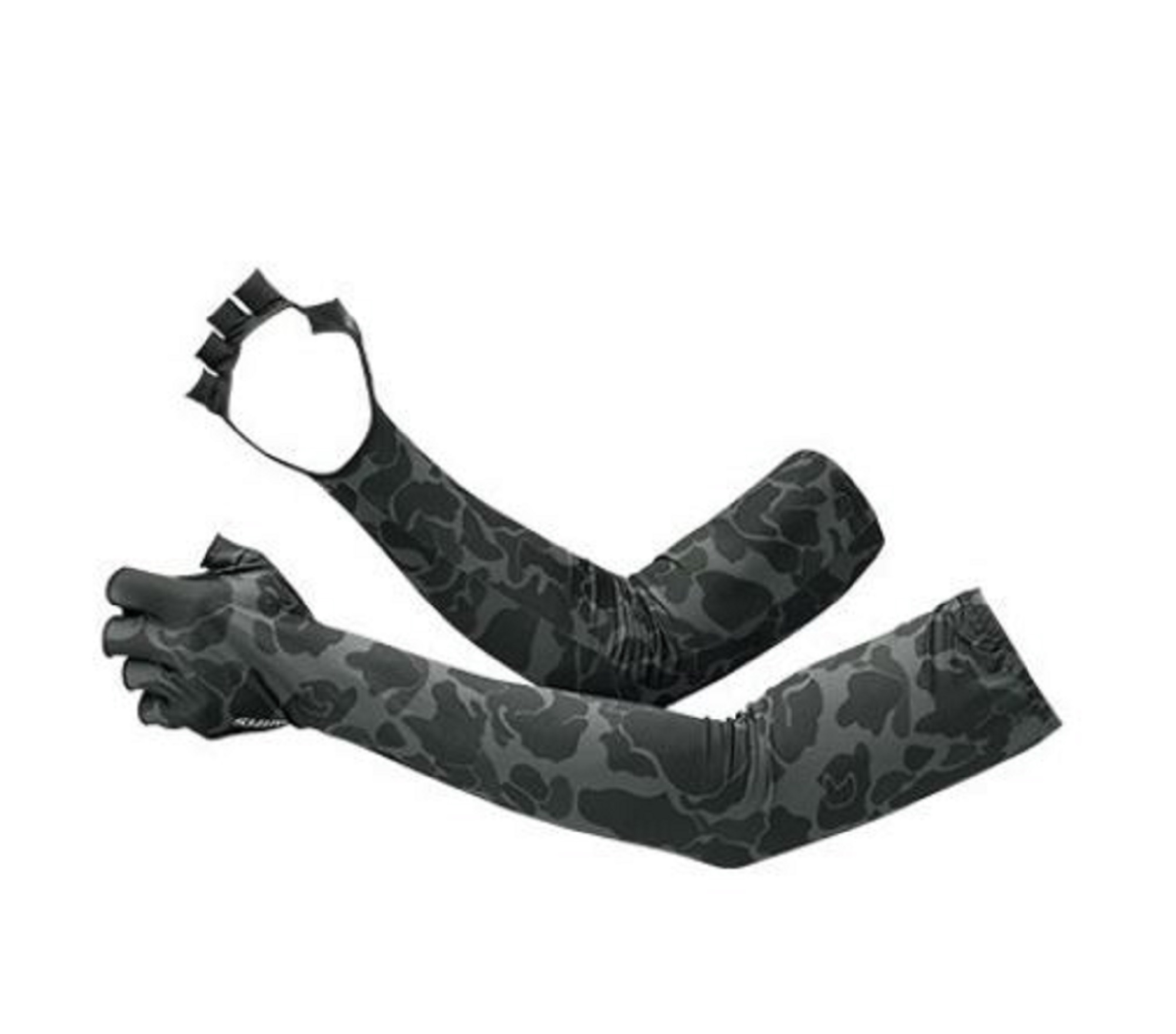 Shimano GL-047Q Arm Sleeves Hand Cover Fingerless Size L Black 669773