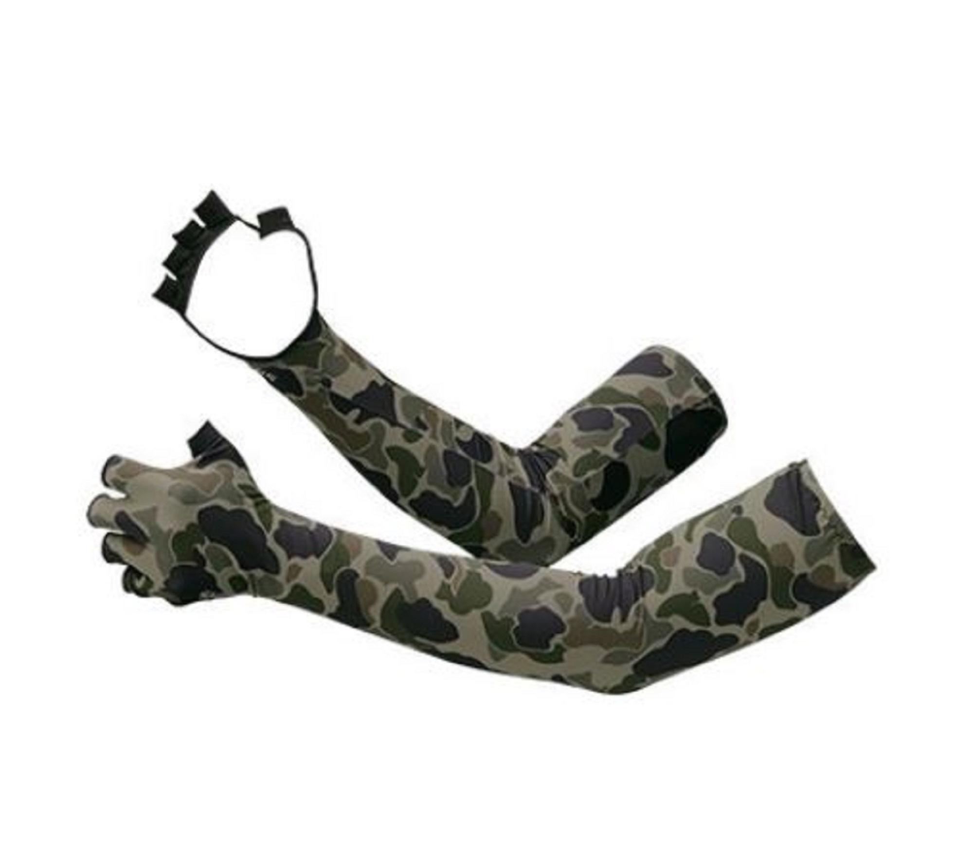 Shimano GL-047Q Arm Sleeves Hand Cover Fingerless Size XL Camou 669810