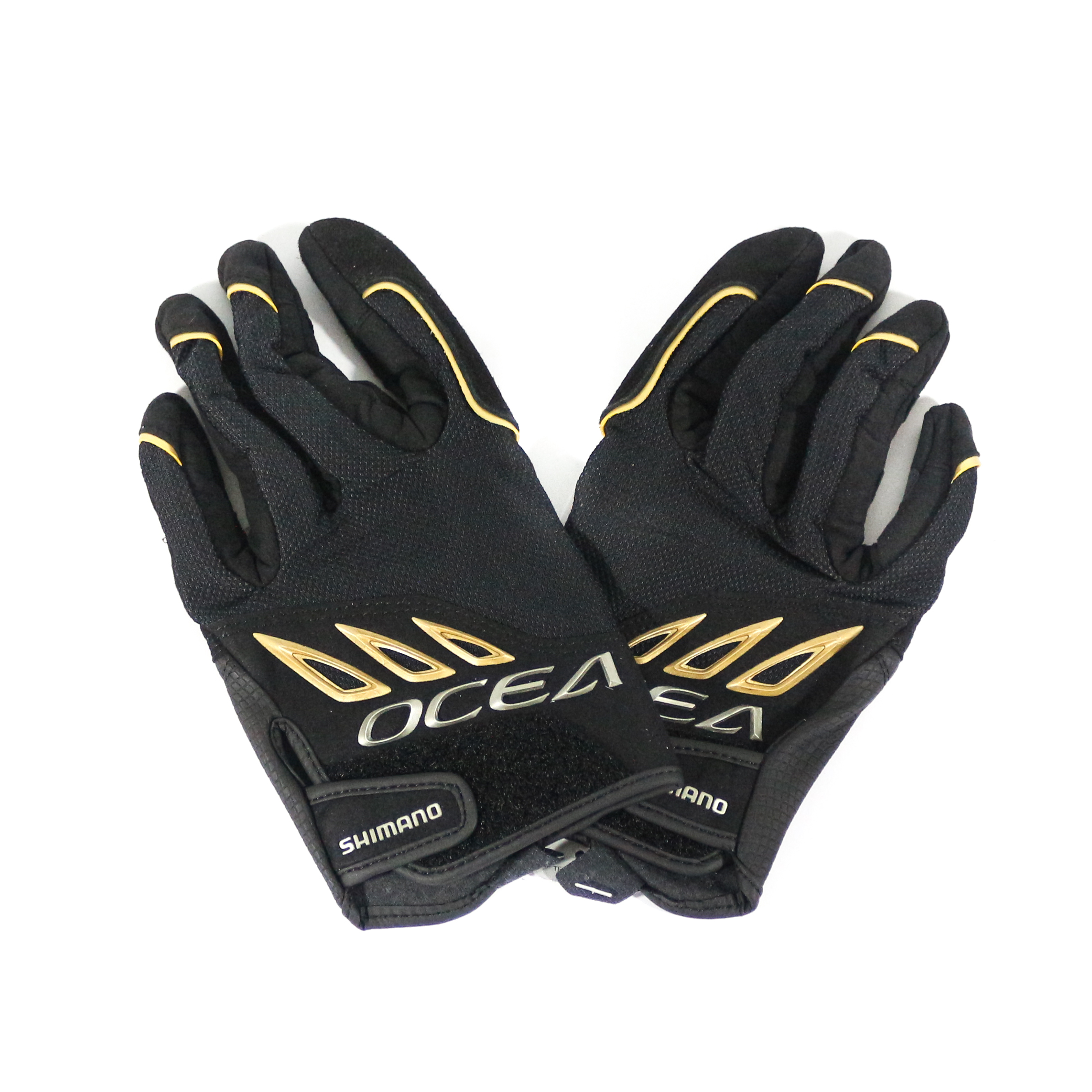 Shimano GL-292Q Gloves Big Game Support Black Size M 479464