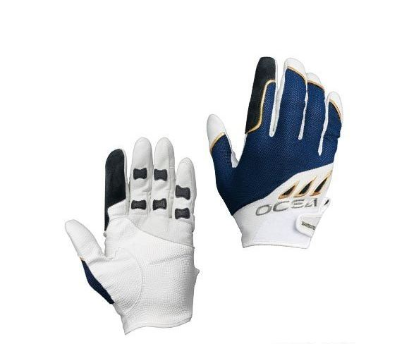 Shimano GL-292Q Gloves Big Game Support White Size L 479518