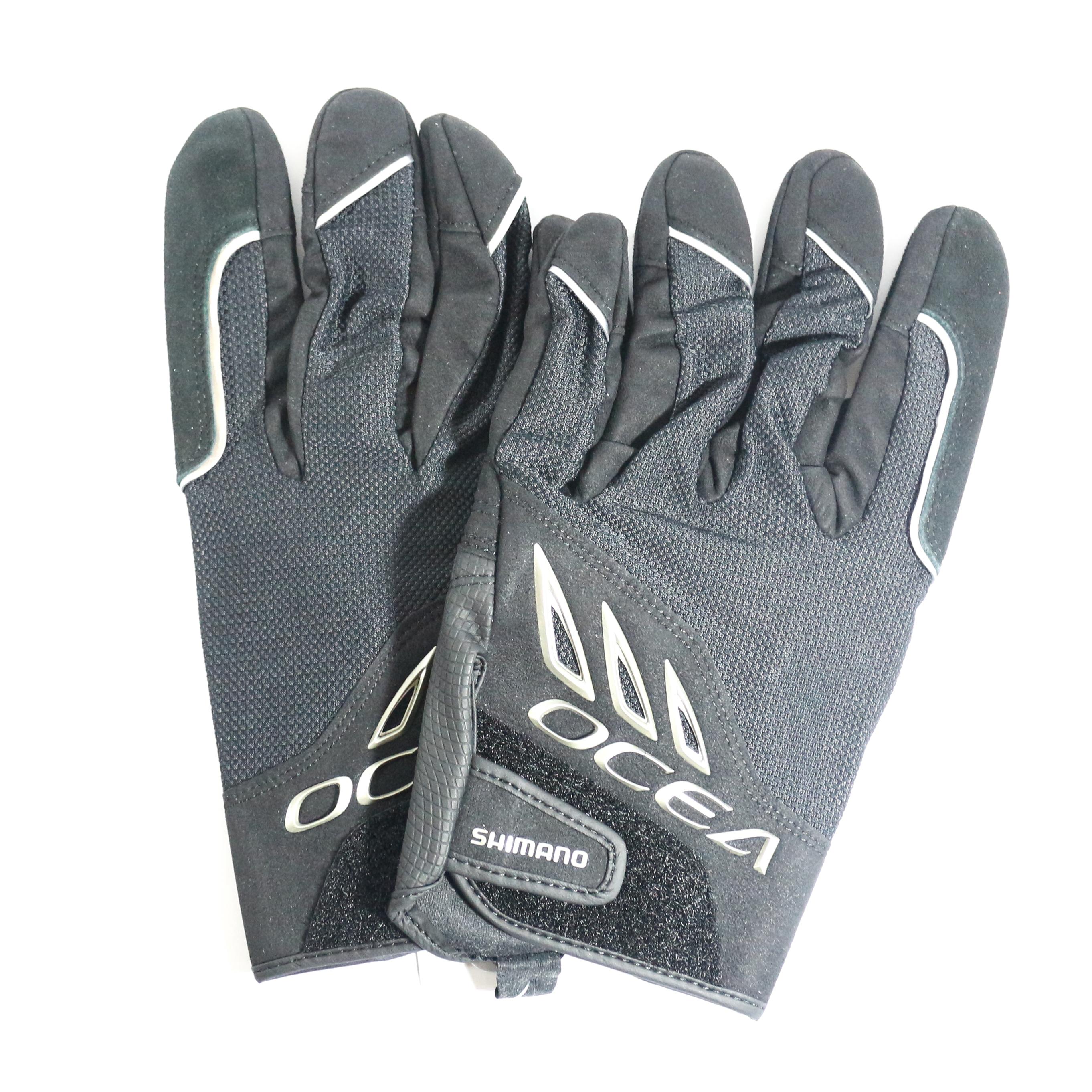 Shimano GL-293Q Gloves Big Game Casting Black Size XL 479563