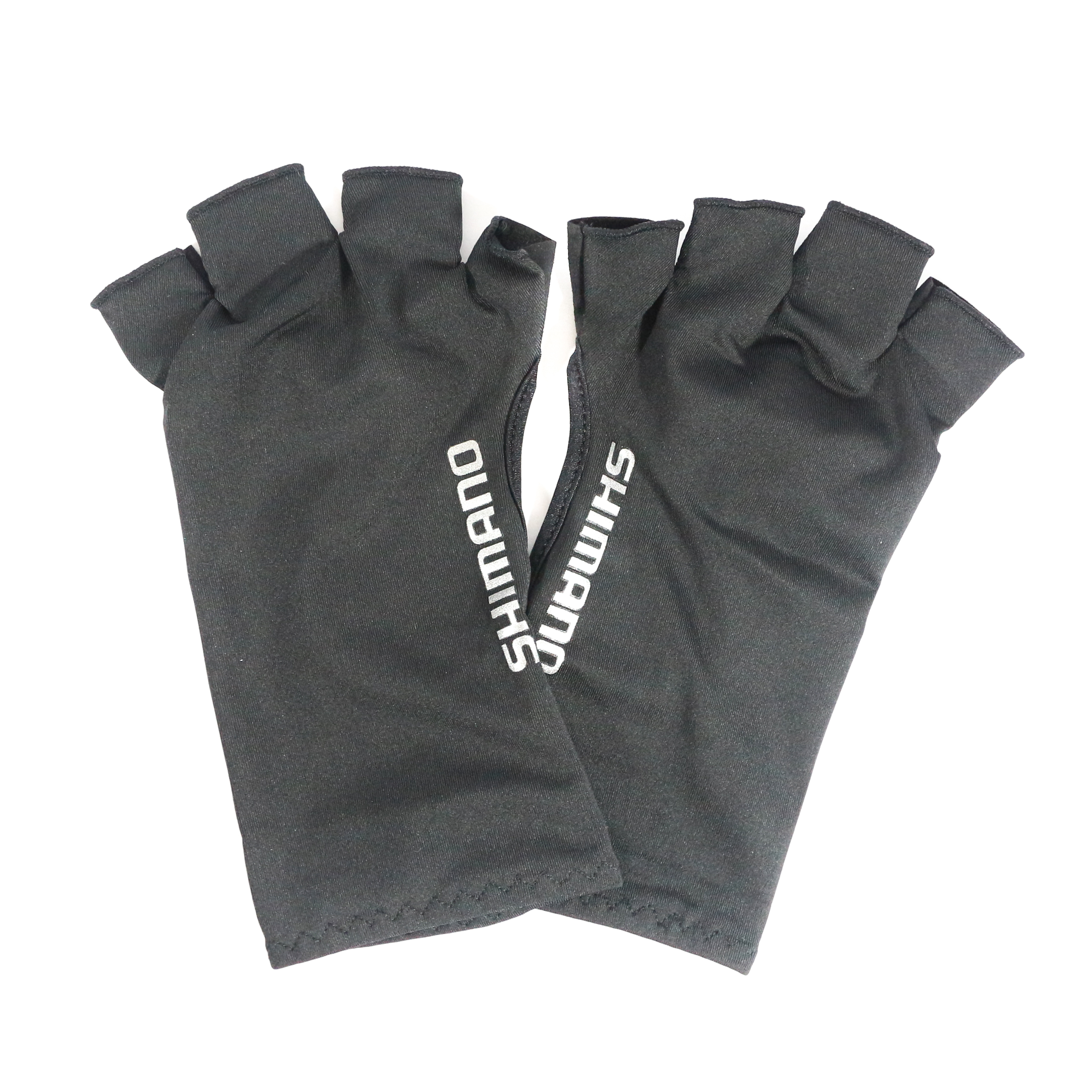 Shimano GL-048Q Gloves UPF 50 Sun Protection 5 Fingerless Bk Size L 483294