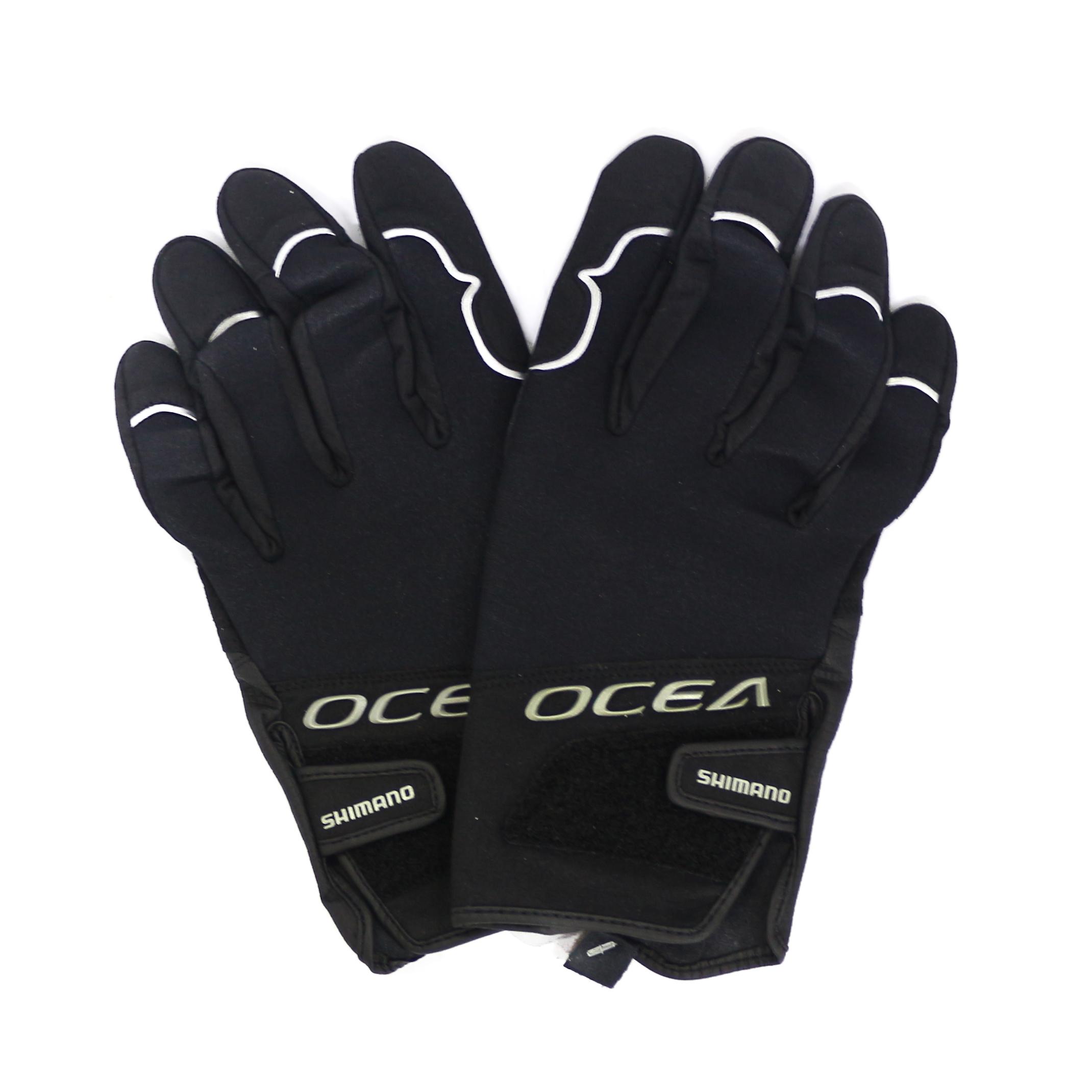 Shimano GL-295Q Gloves 3D Casting Titanium Black Size XL 532275