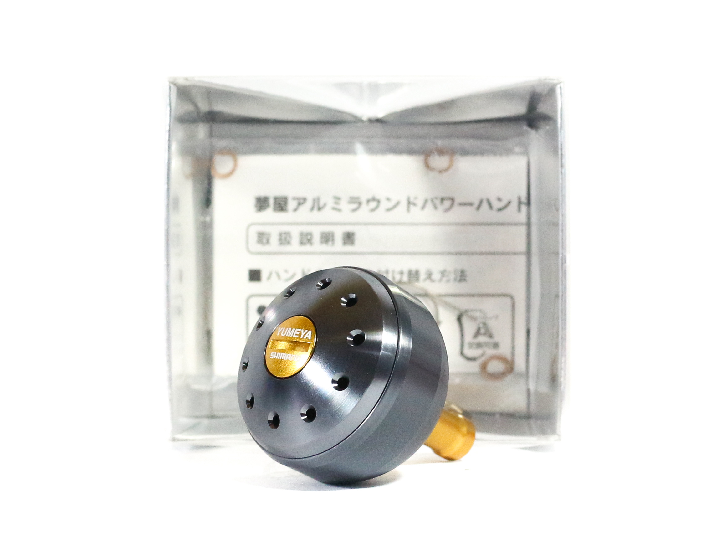 Shimano Yumeya Handle Knob Metal Type A Size M 1000-4000 026835