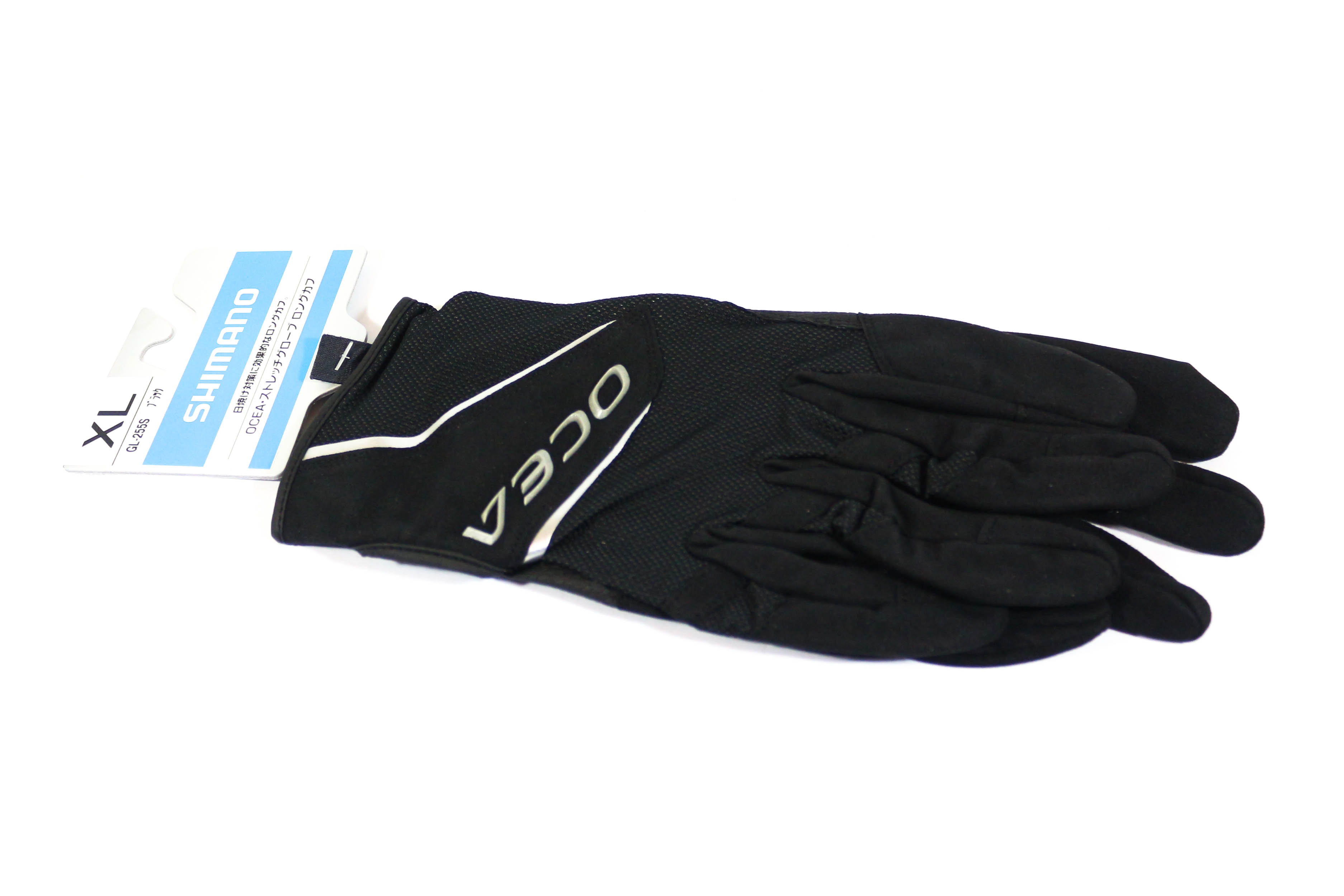 Shimano GL-255S Gloves Ocea Long Cuff Stretch Glove Black Size XL 634771