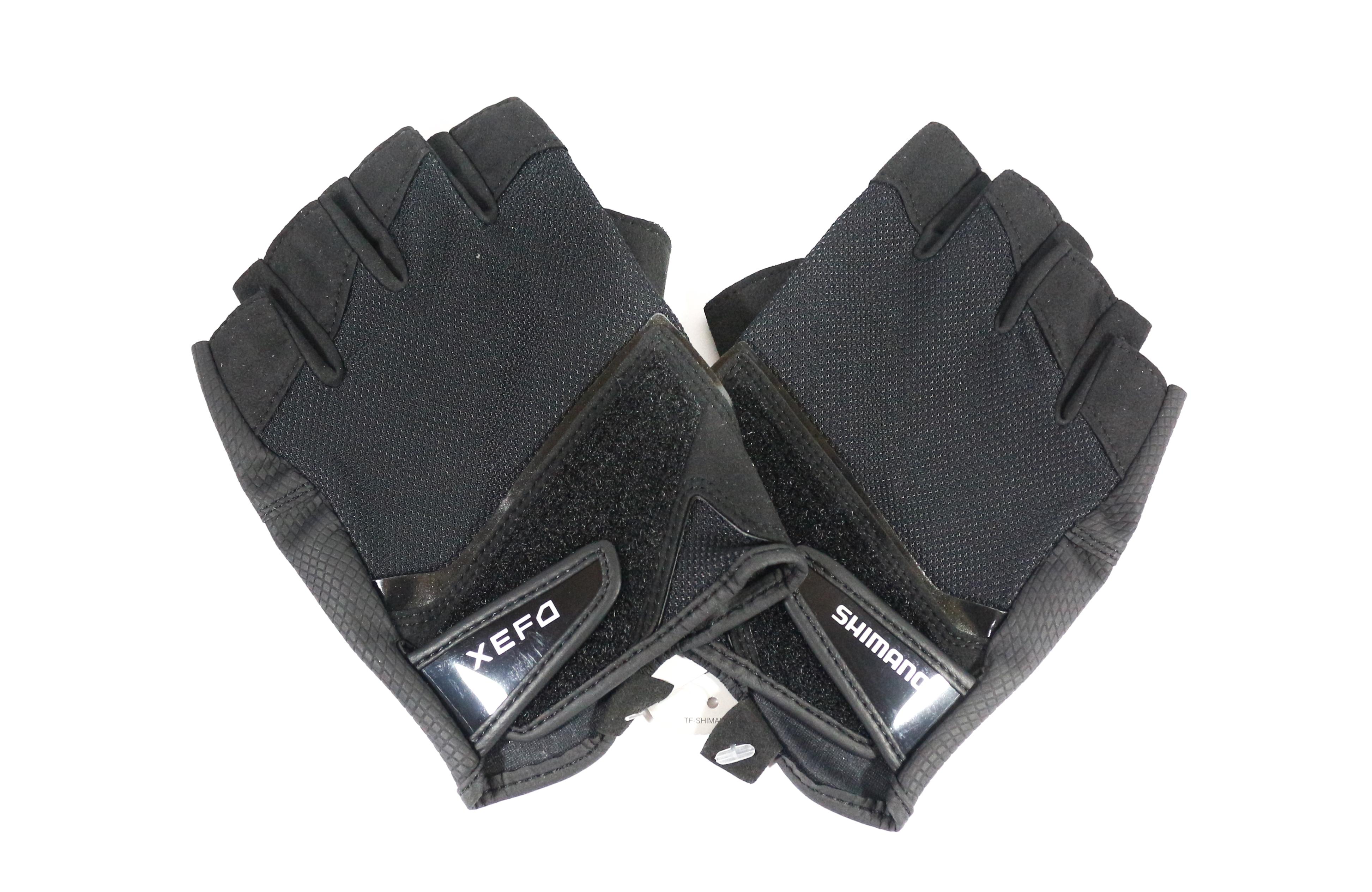 Shimano GL-242P Gloves XEFO 3D Casting 5 Fingerless Black Size M (0807)