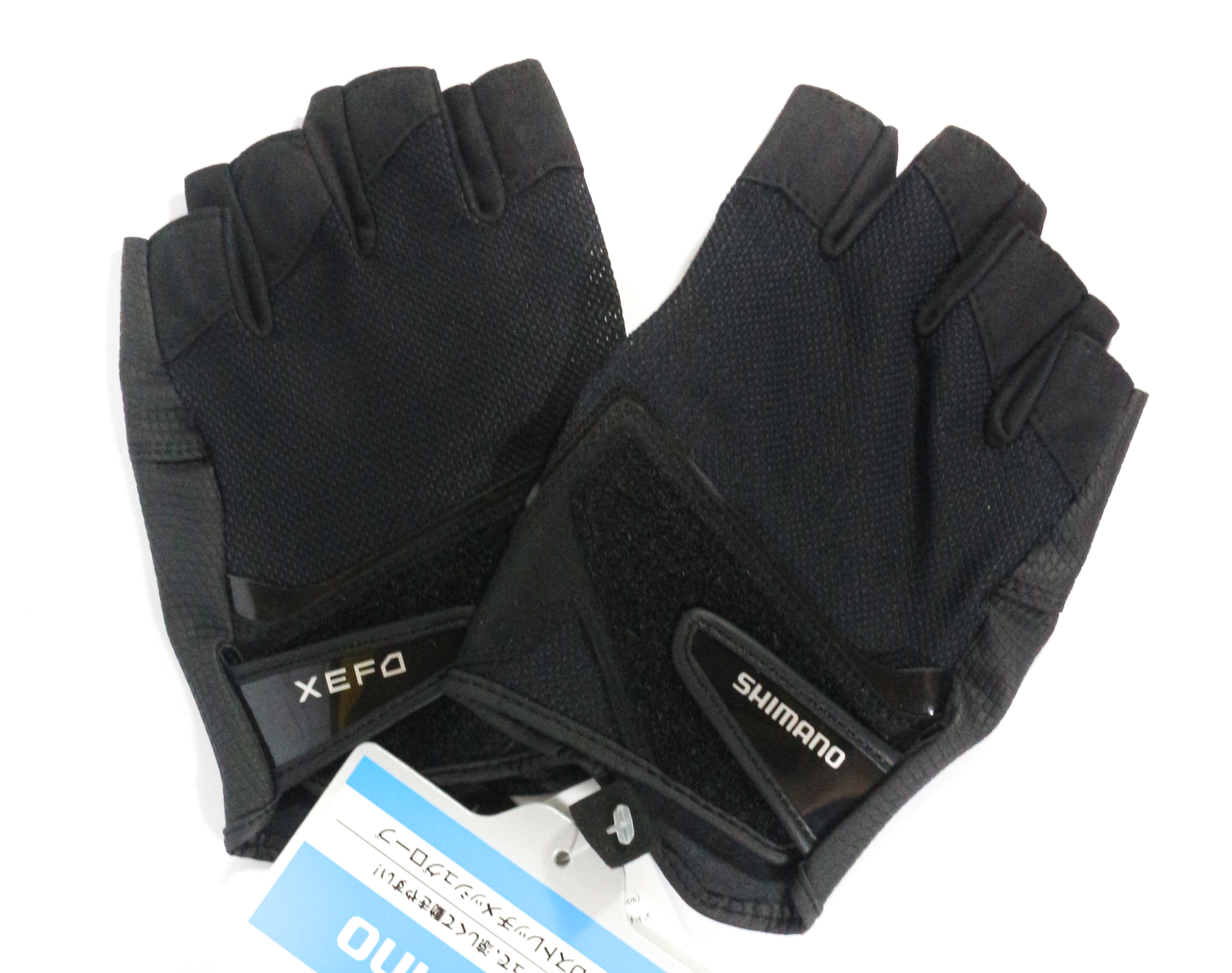 Shimano GL-242P Gloves XEFO 3D Casting 5 Fingerless Black Size L 450814
