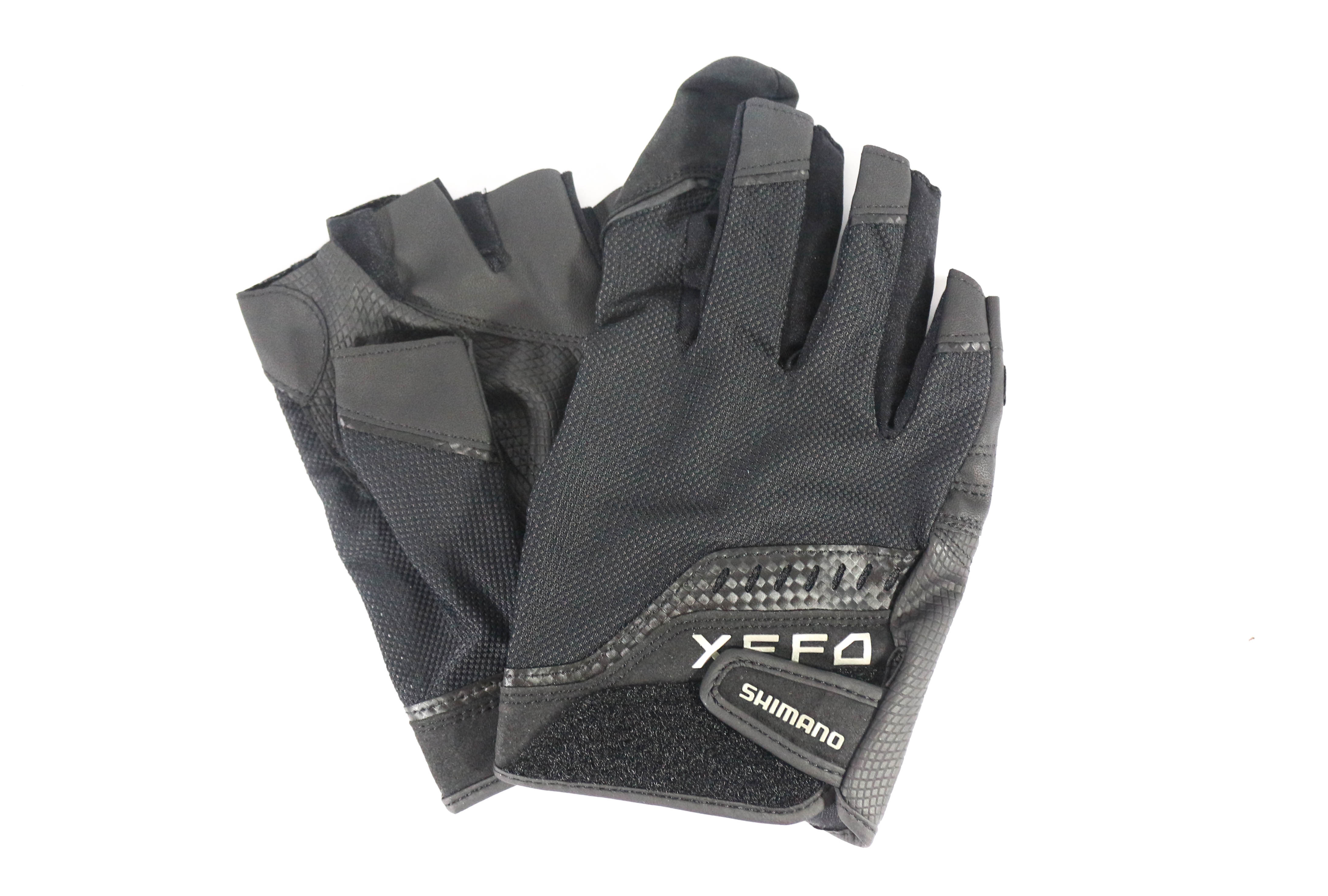 Shimano GL-229Q Power Casting Gloves Full Right Hand Index Finger Size XL 479402