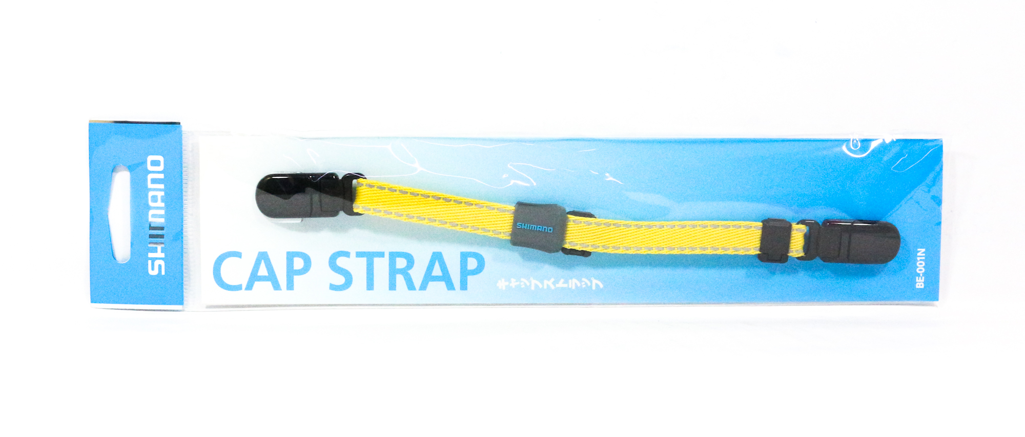 Shimano BE-001N Clip on Cap Strap Yellow 414960
