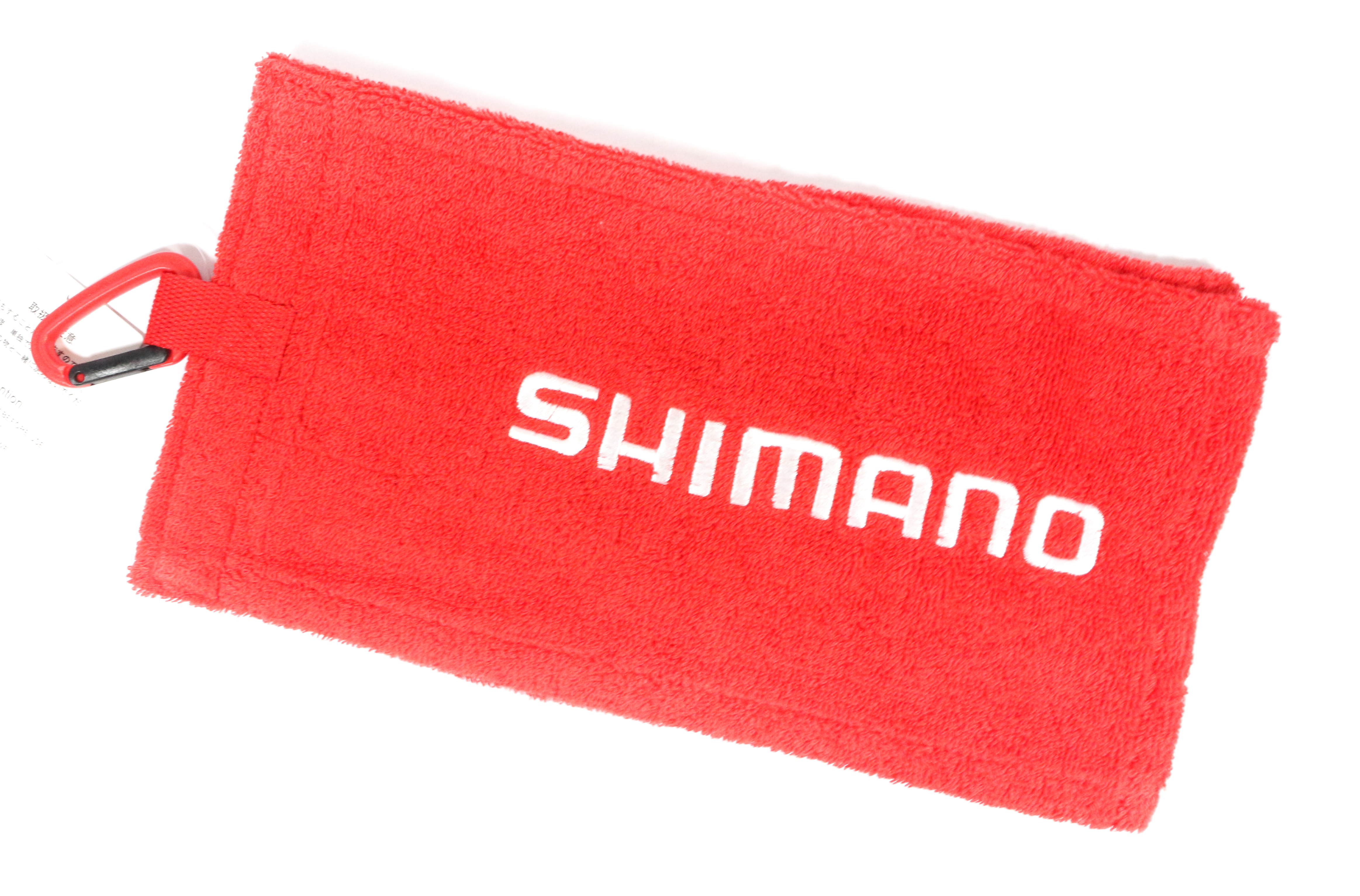Shimano AC-060P Clip on Fishing Hand Towel Fireblood 60 x 15 cm Red 451941